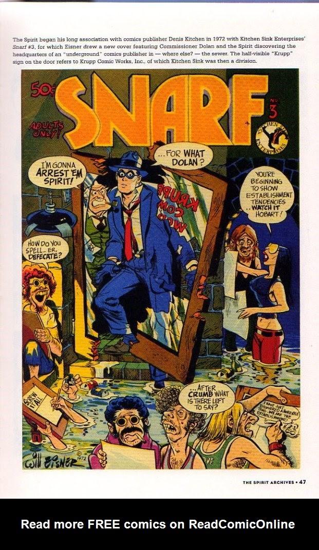 Read online Will Eisner's The Spirit Archives comic -  Issue # TPB 26 (Part 1) - 54