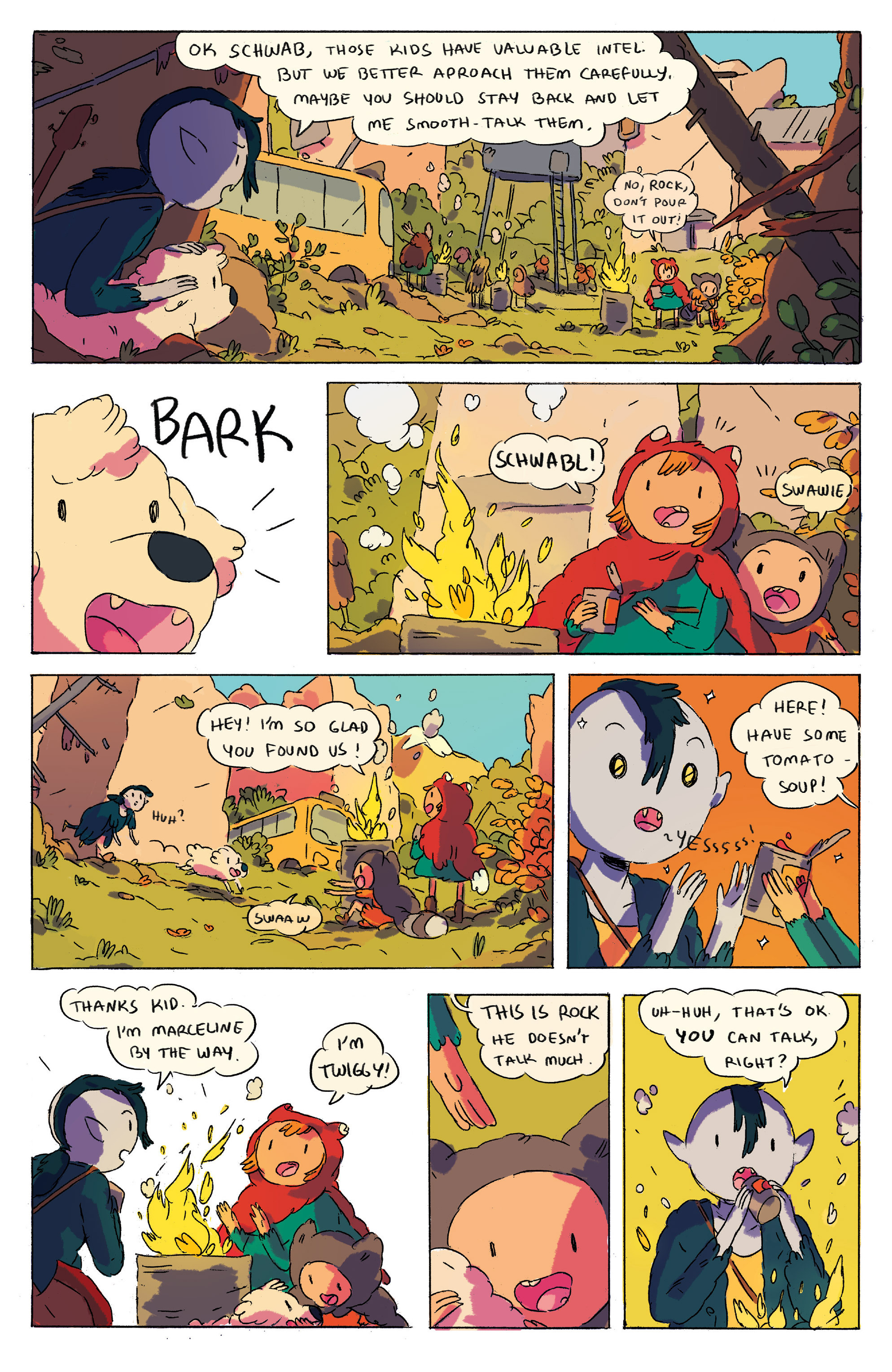 Read online Adventure Time comic -  Issue # _2015 Spoooktacular - 12