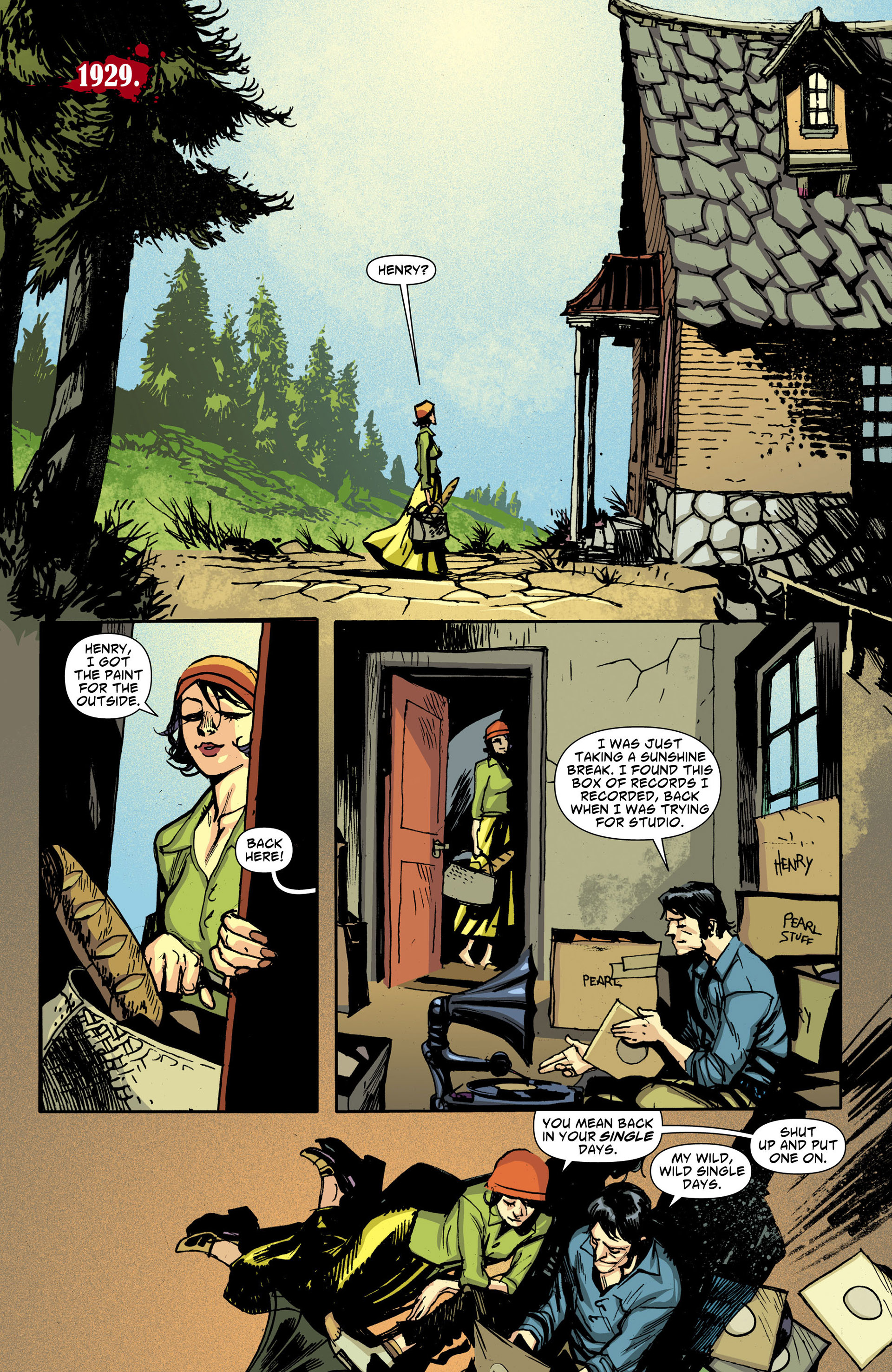 Read online American Vampire comic -  Issue #30 - 2