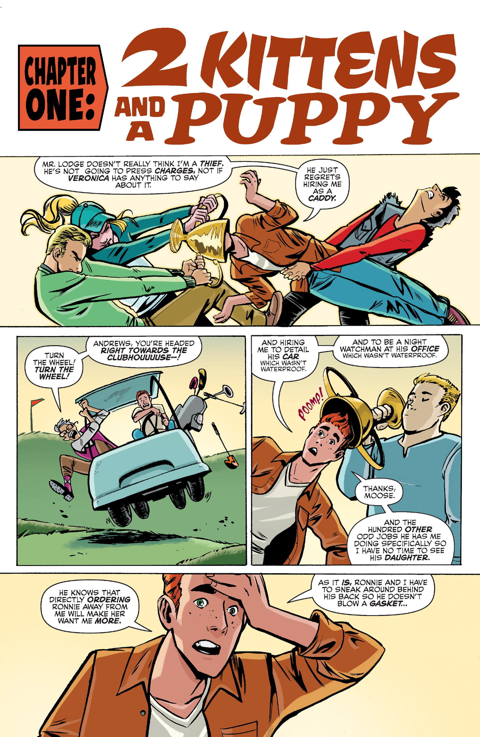 Read online Archie (2015) comic -  Issue #8 - 4