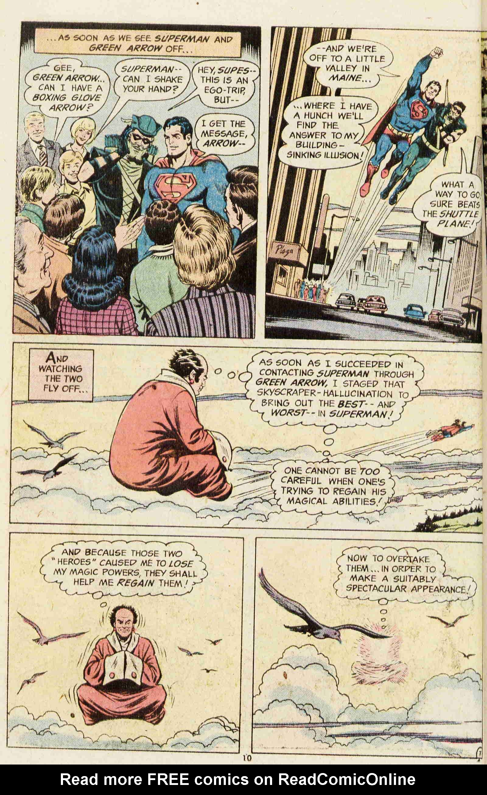 Read online Action Comics (1938) comic -  Issue #437 - 9
