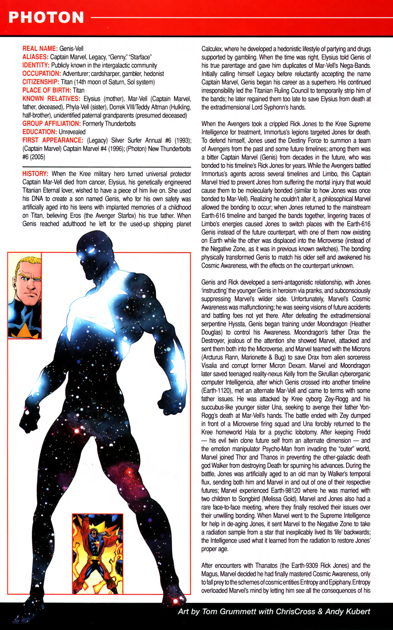 Read online All-New Official Handbook of the Marvel Universe A to Z comic -  Issue #8 - 42