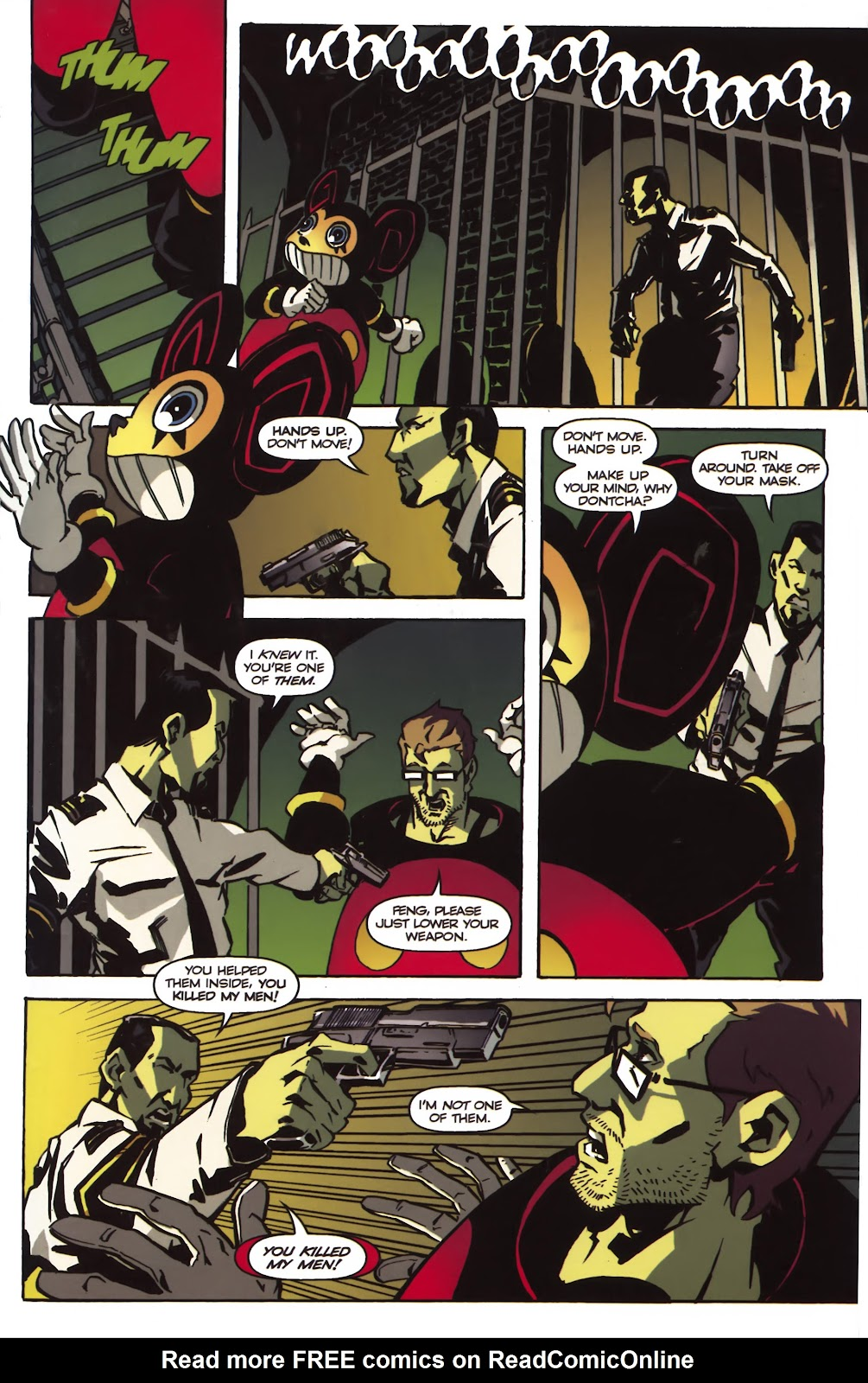 Read online Ricky Rouse Has A Gun comic -  Issue # TPB (Part 1) - 82