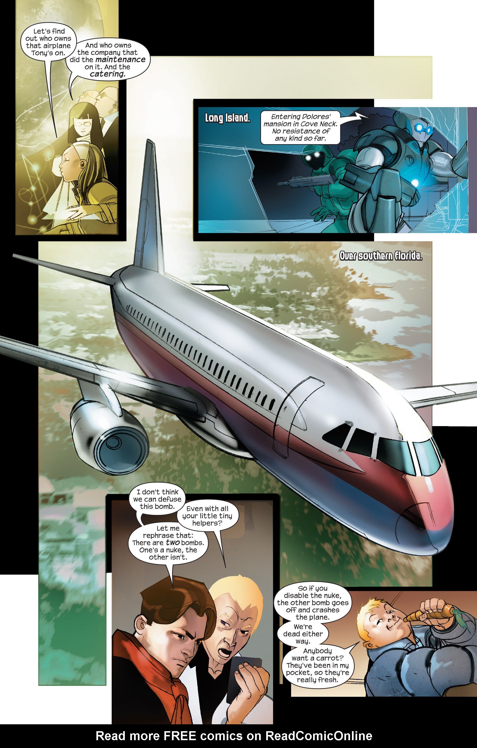 Read online Ultimate Iron Man II comic -  Issue #4 - 9