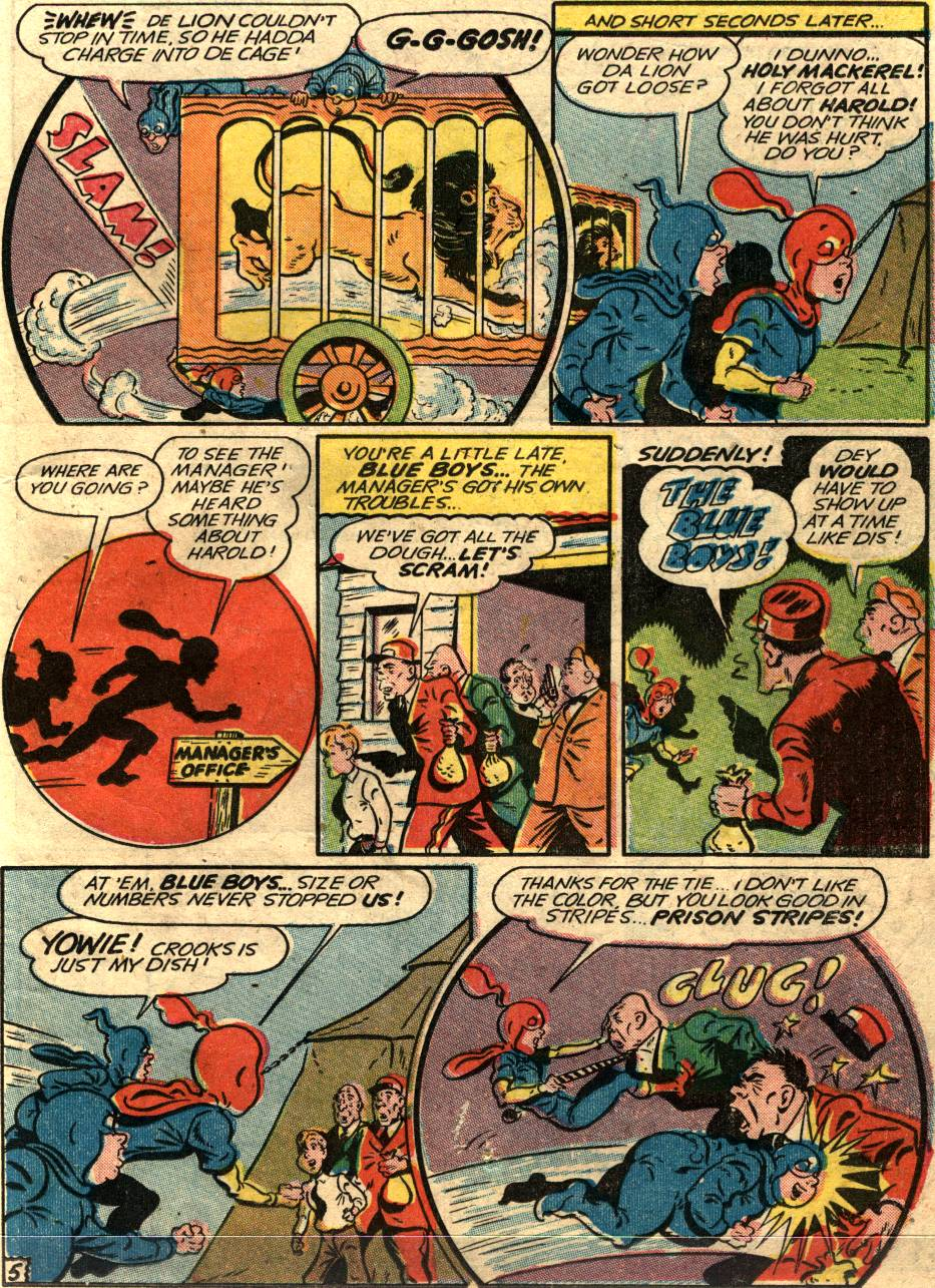 Read online Sensation (Mystery) Comics comic -  Issue #58 - 21