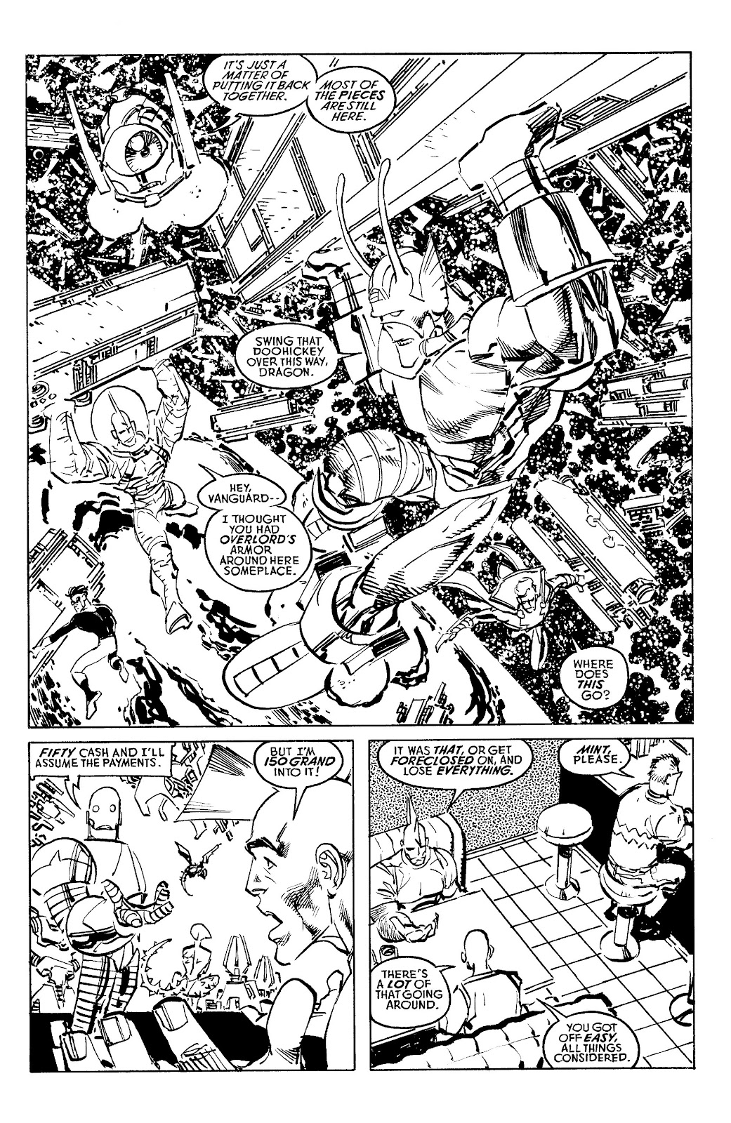 Read online Savage Dragon Archives comic -  Issue # TPB 6 (Part 4) - 66