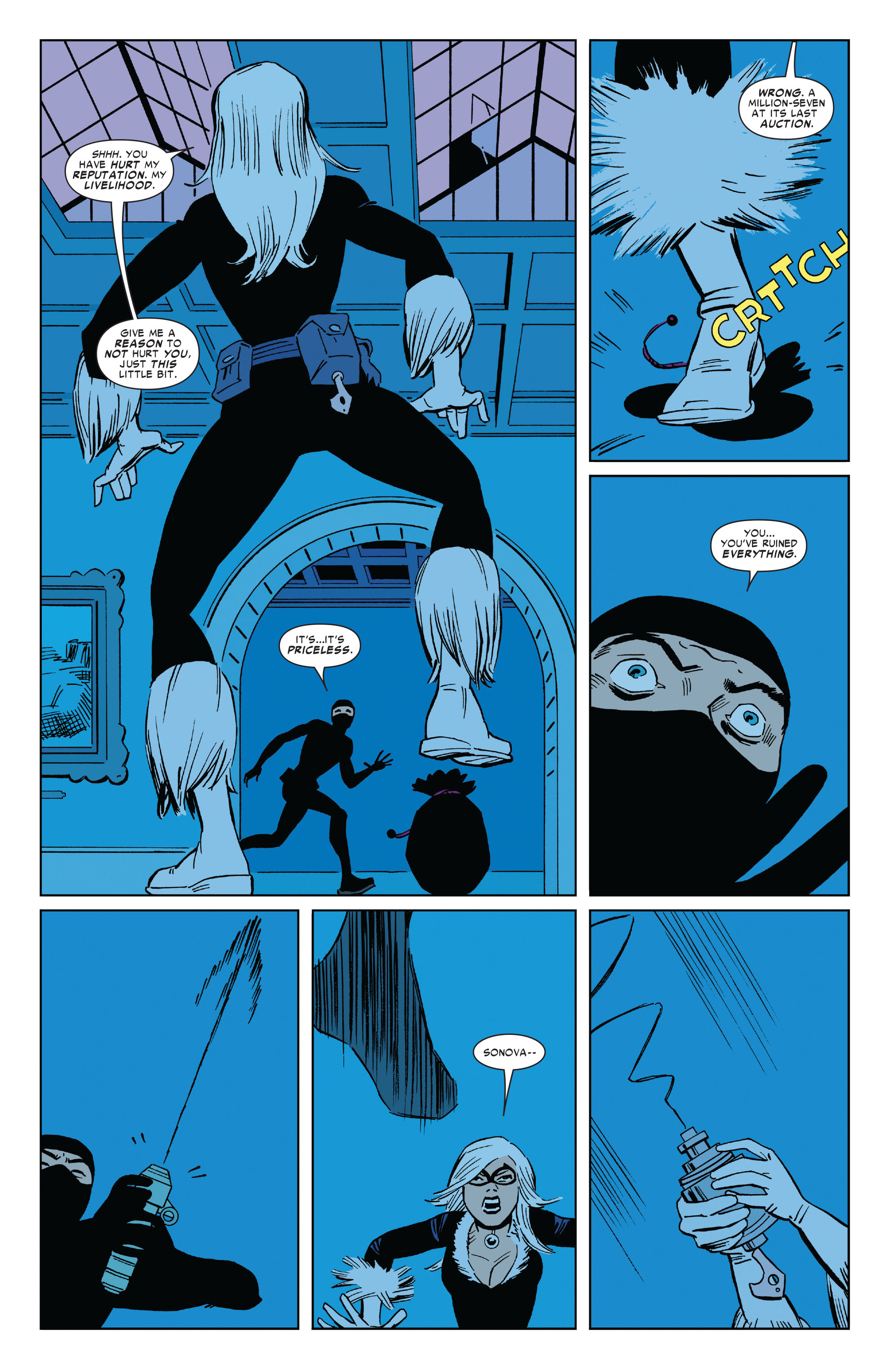 Read online Amazing Spider-Man Presents: Black Cat comic -  Issue #1 - 18