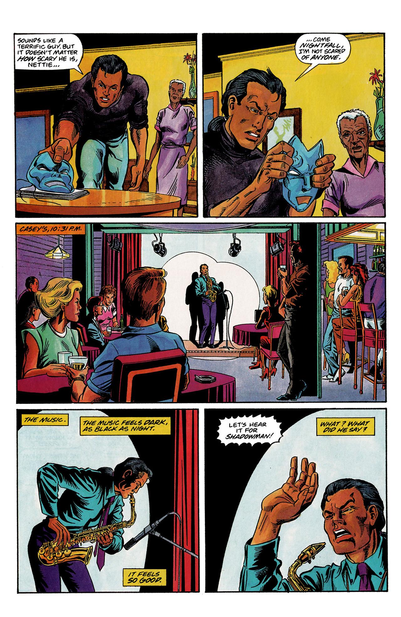 Read online Shadowman (1992) comic -  Issue #3 - 14