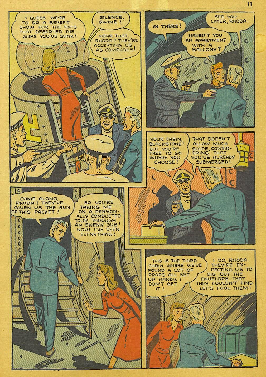 Read online Super-Magician Comics comic -  Issue #10 - 11