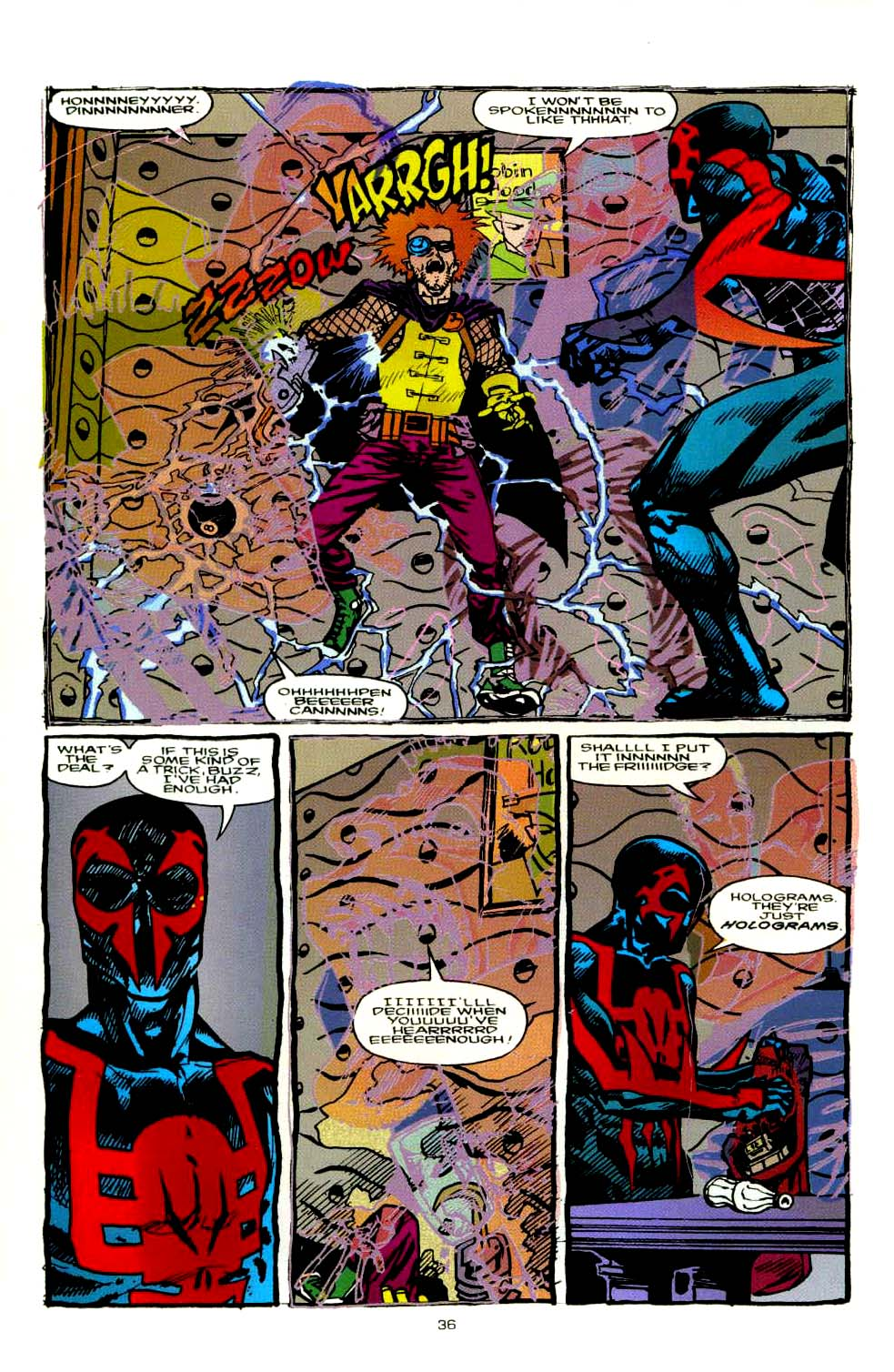Read online 2099 Unlimited comic -  Issue #8 - 32