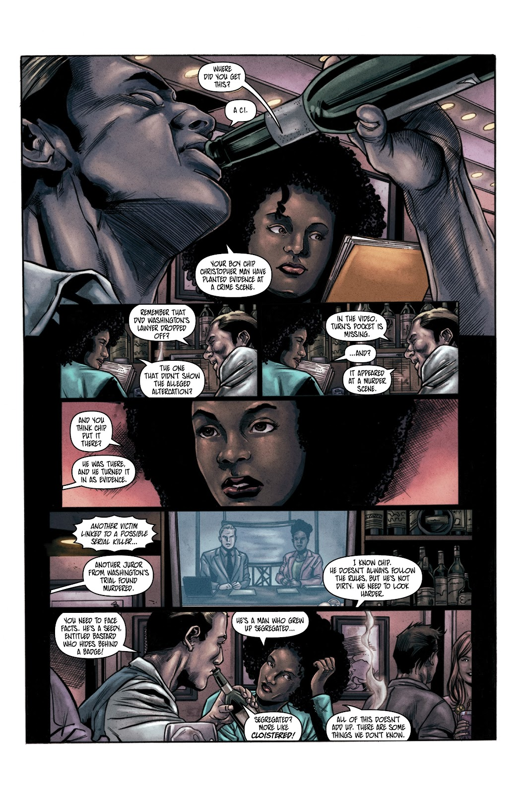 Read online Vindication comic -  Issue #3 - 4