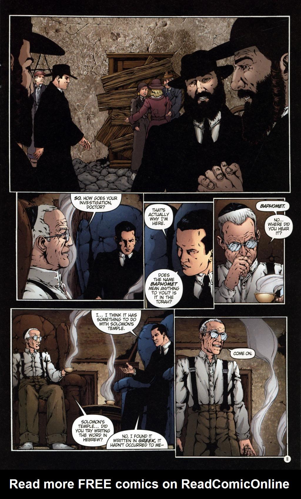 Read online Rex Mundi comic -  Issue #7 - 15