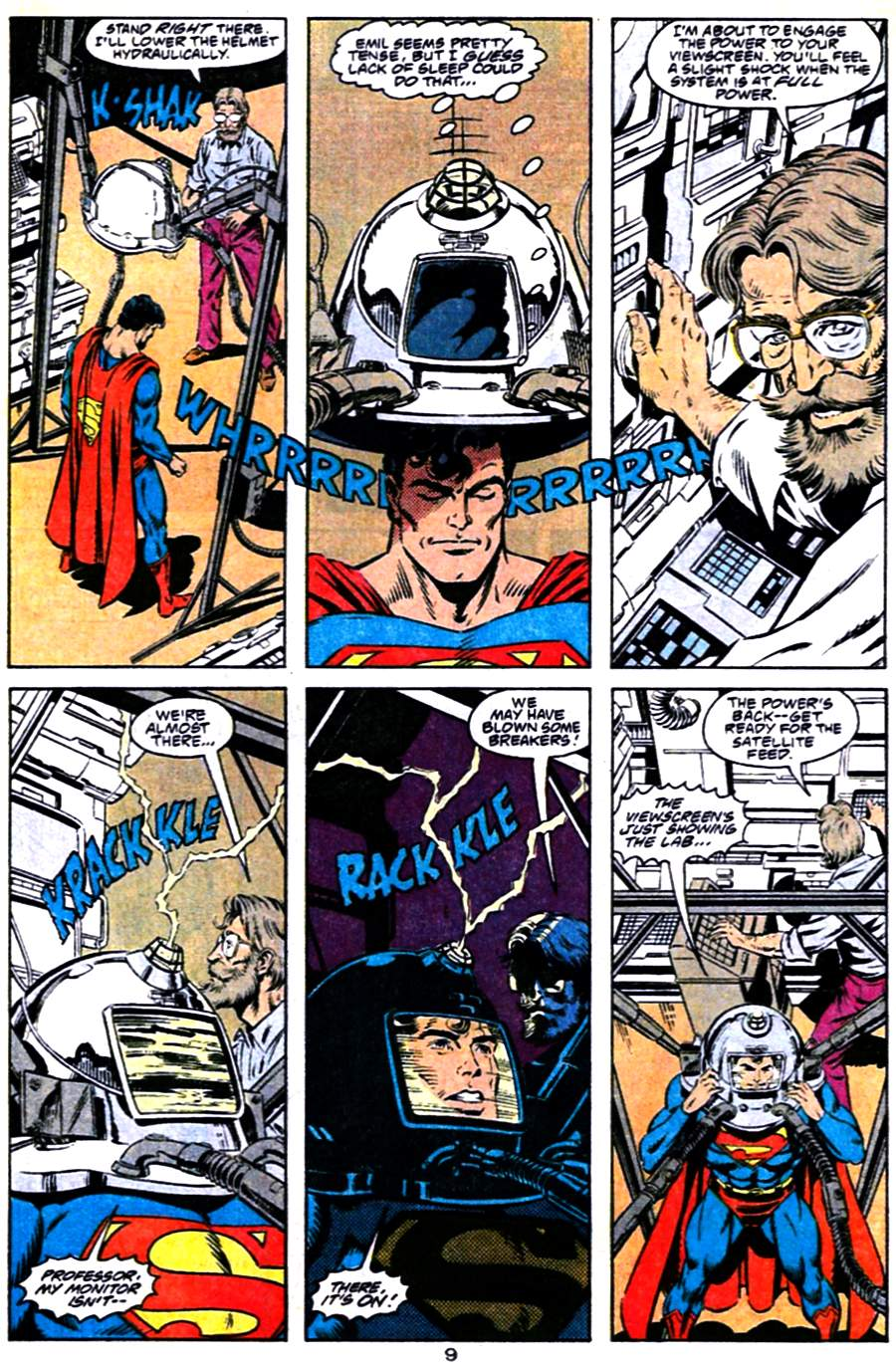 Read online Adventures of Superman (1987) comic -  Issue #484 - 10