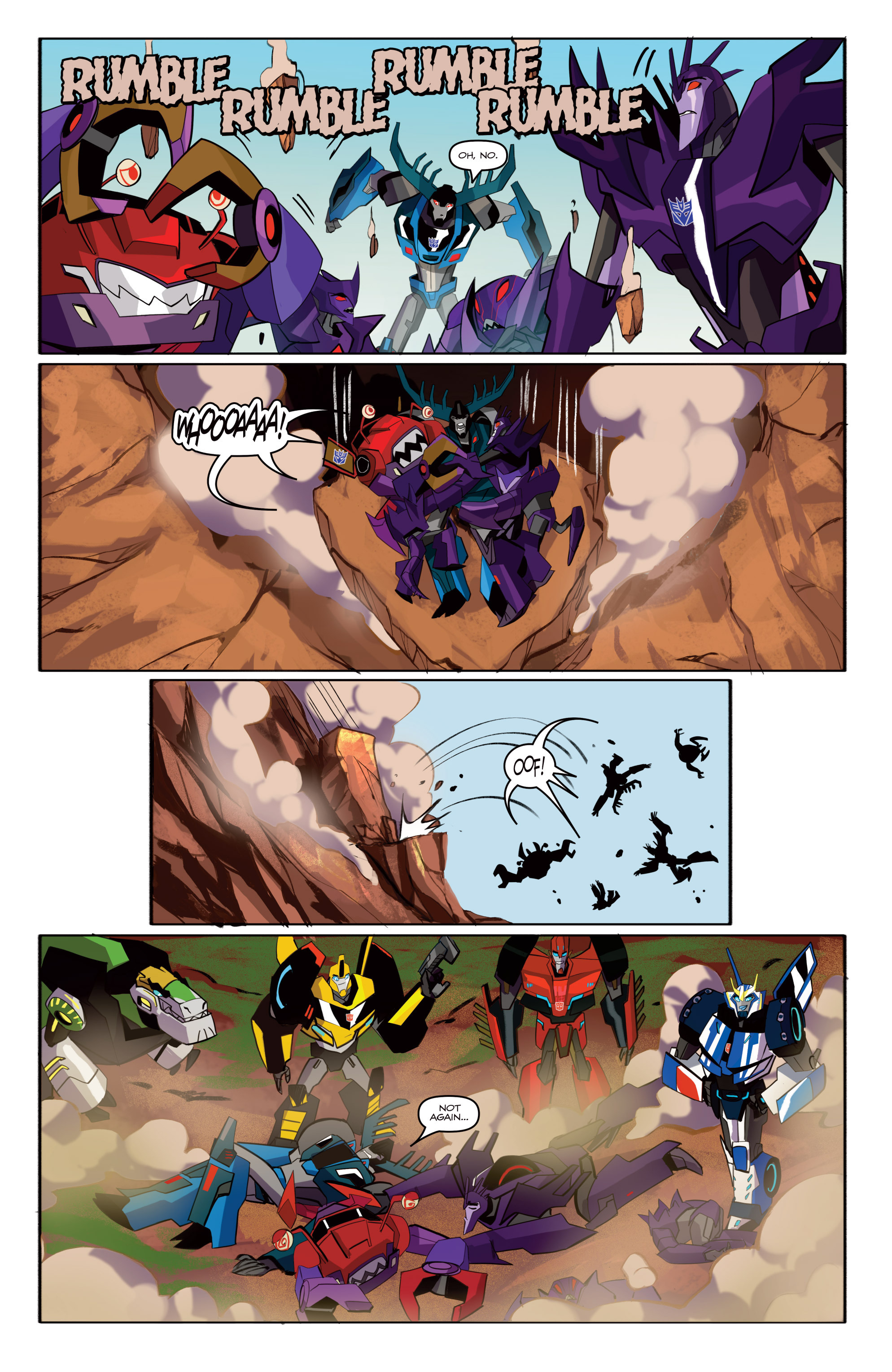 Read online Transformers: Robots In Disguise (2015) comic -  Issue #6 - 22
