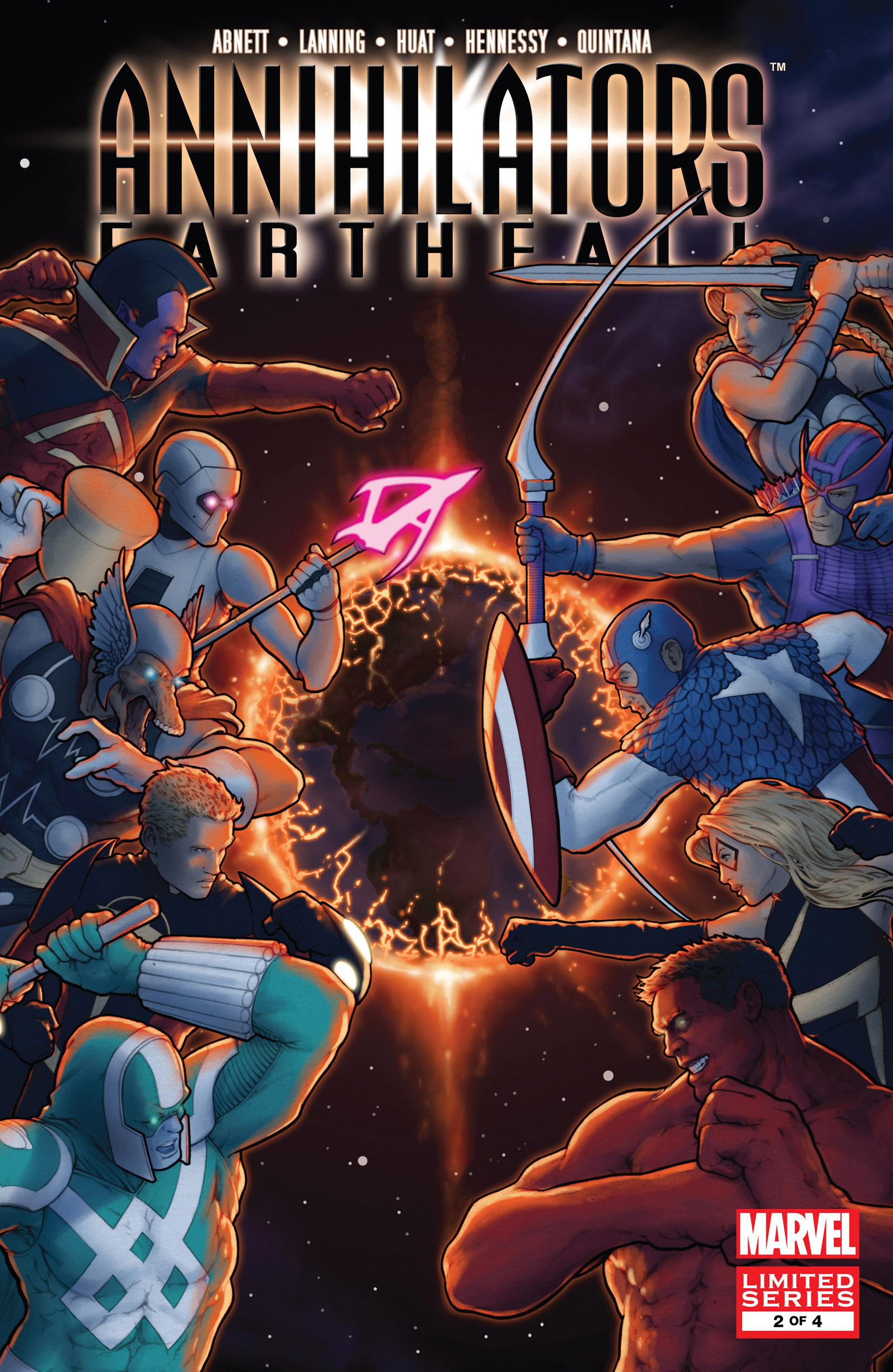 Read online Annihilators: Earthfall comic -  Issue #2 - 1