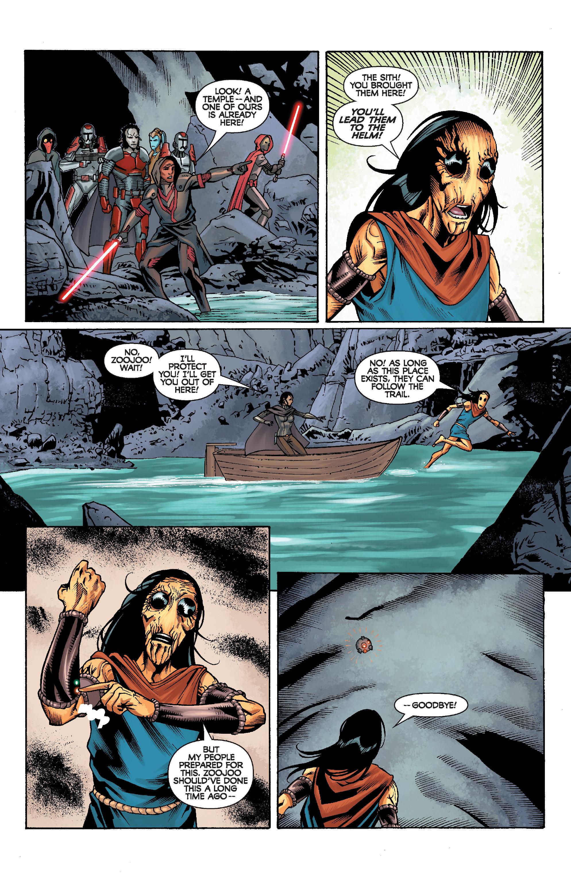 Read online Star Wars: Knight Errant - Escape comic -  Issue #2 - 20