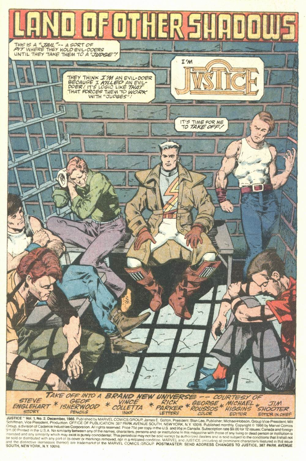 Read online Justice (1986) comic -  Issue #2 - 2