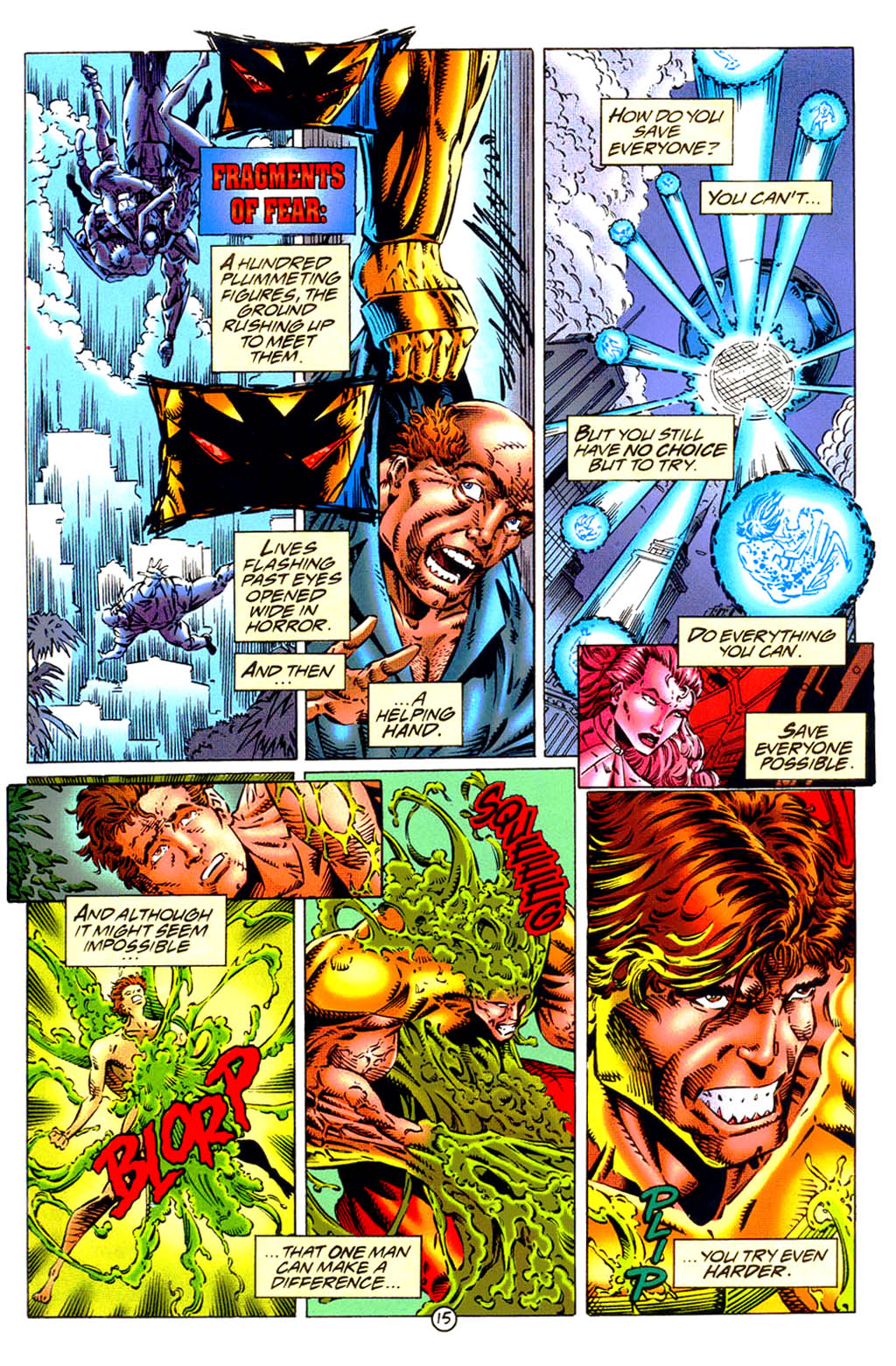 Read online UltraForce (1994) comic -  Issue #9 - 16