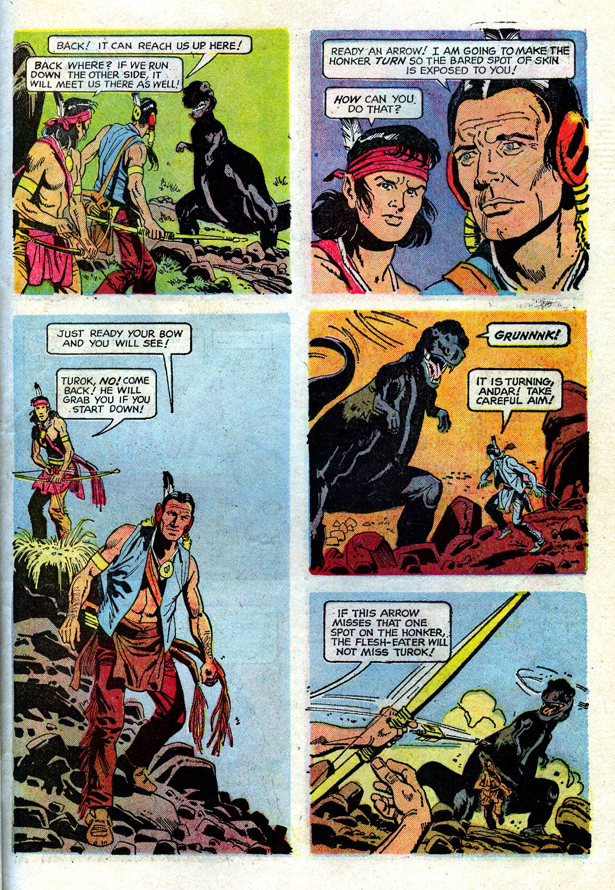 Read online Turok, Son of Stone comic -  Issue #72 - 31