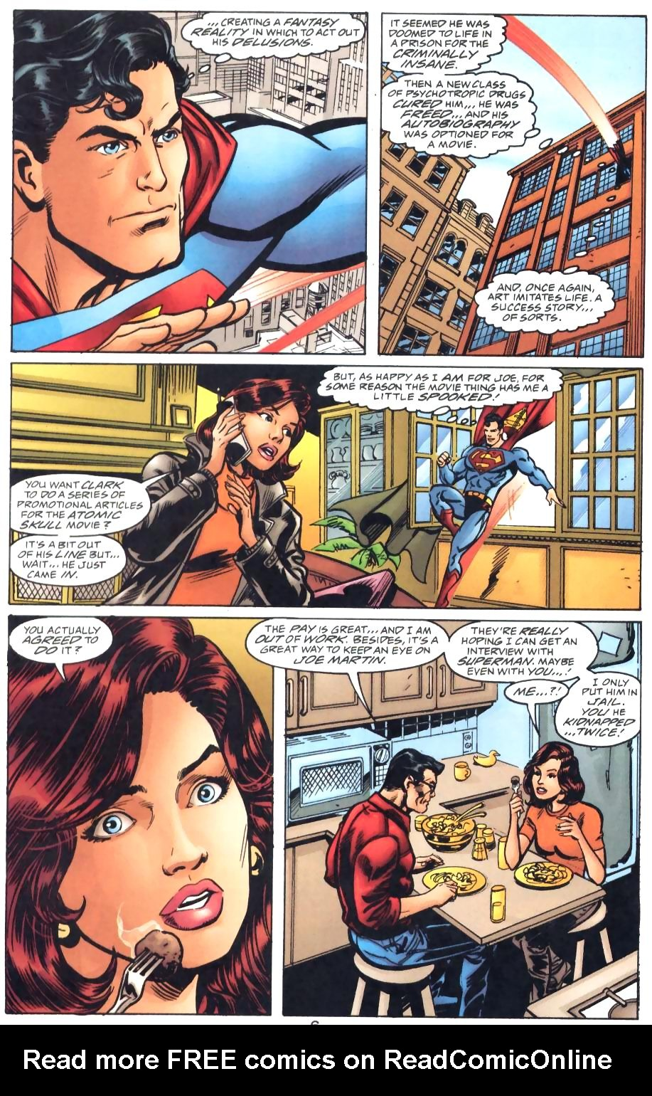 Read online Adventures of Superman (1987) comic -  Issue #571 - 8