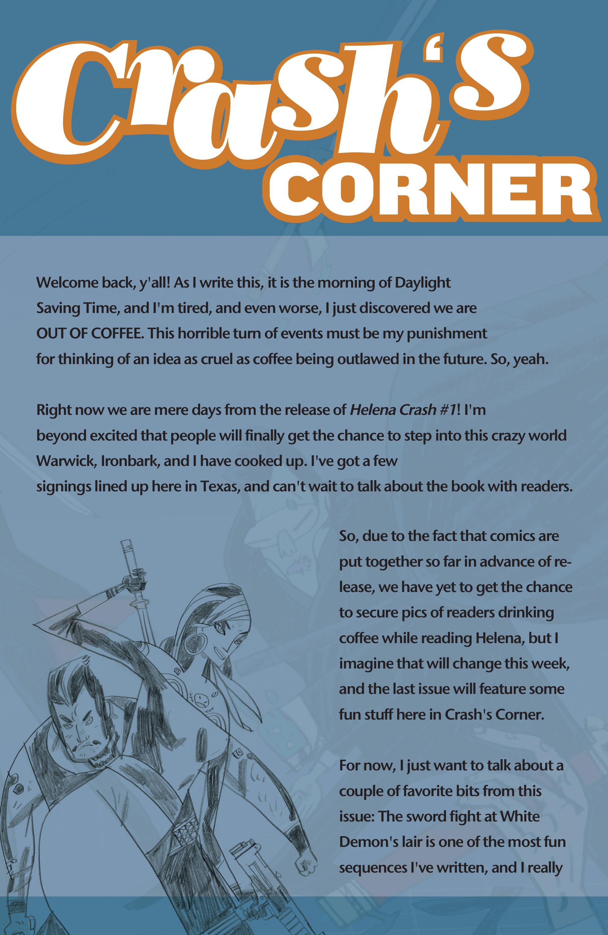 Read online Helena Crash comic -  Issue #3 - 25