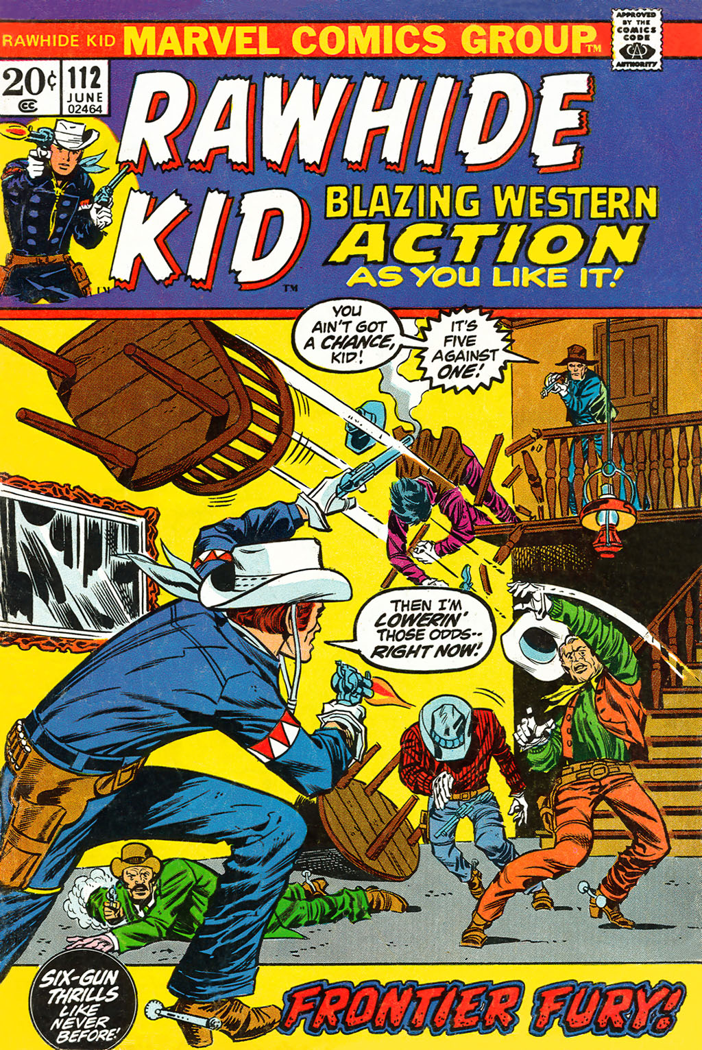 The Rawhide Kid (1955) issue 112 - Page 1