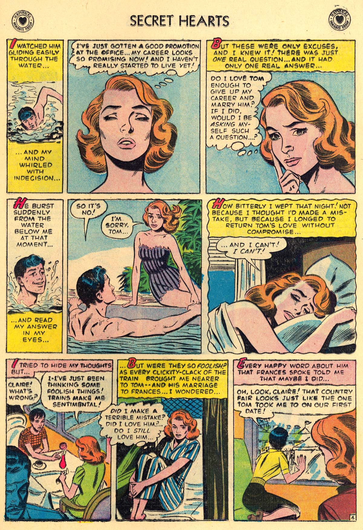 Read online Secret Hearts comic -  Issue #43 - 13
