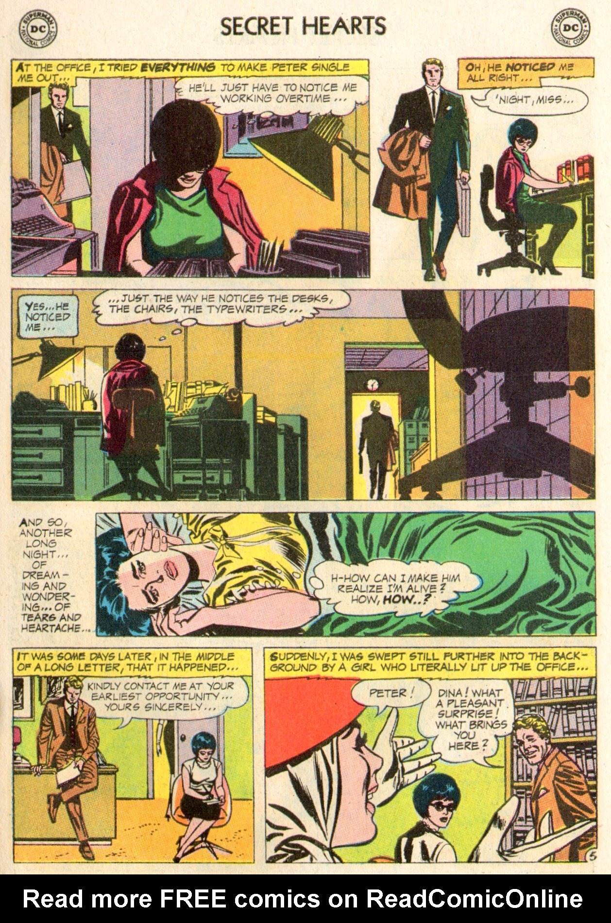 Read online Secret Hearts comic -  Issue #104 - 7