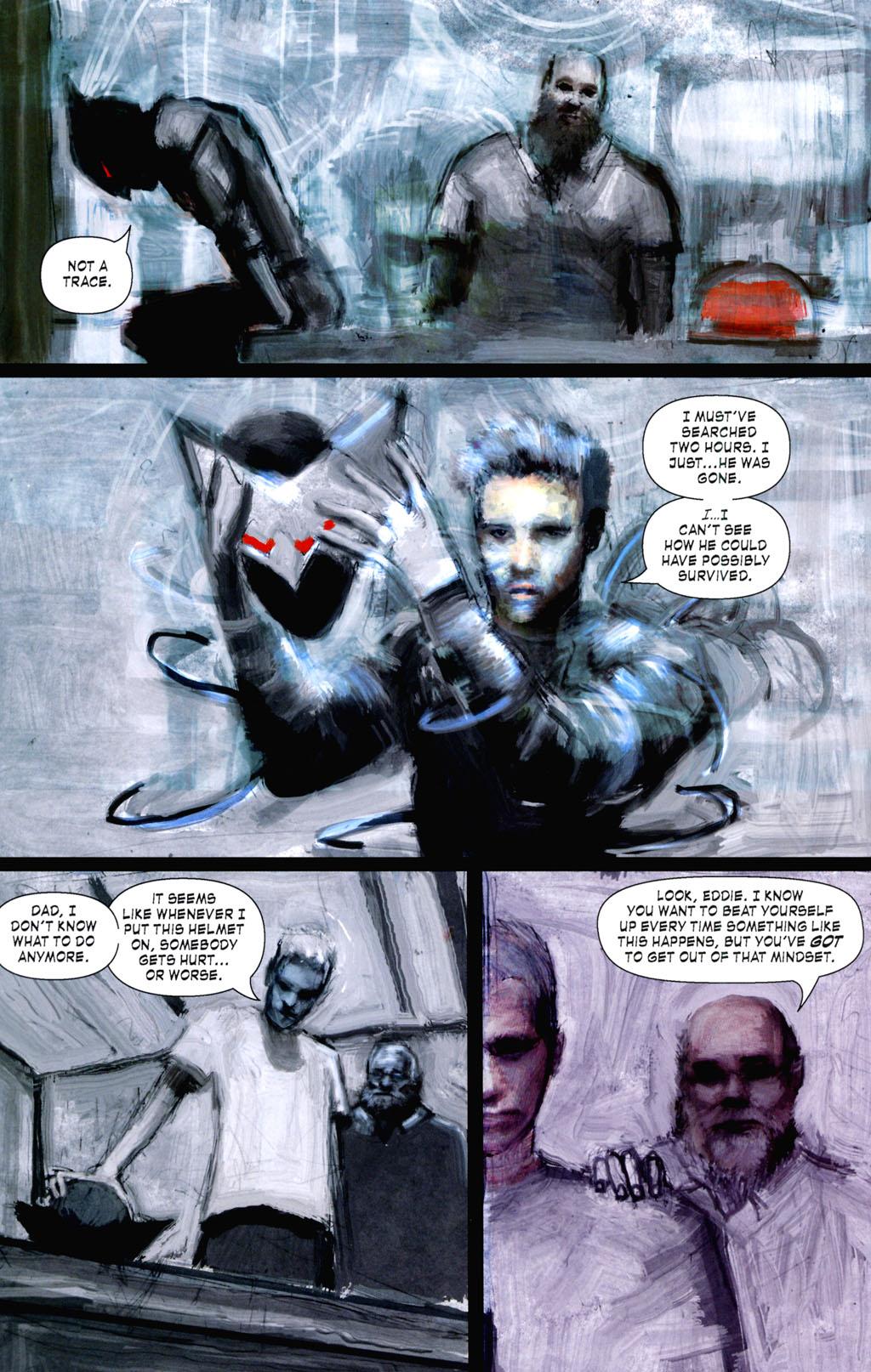 Read online ShadowHawk (2005) comic -  Issue #8 - 22