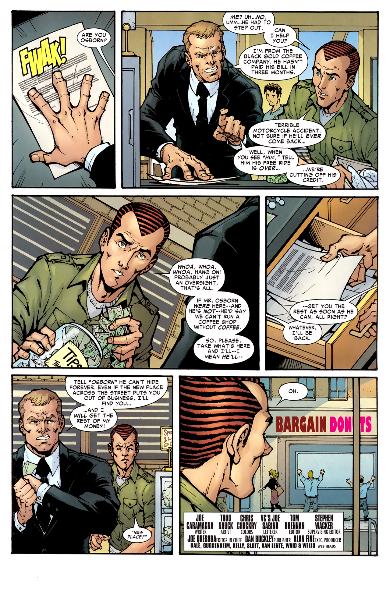 Read online Amazing Spider-Man Presents: American Son comic -  Issue #1 - 27