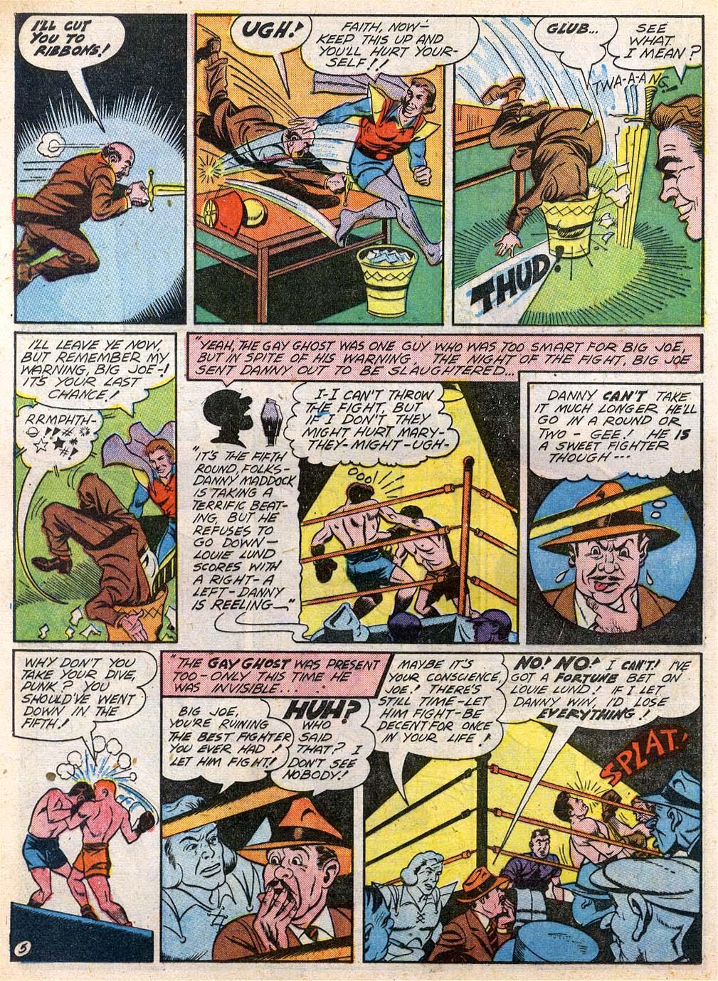 Read online Sensation (Mystery) Comics comic -  Issue #27 - 36