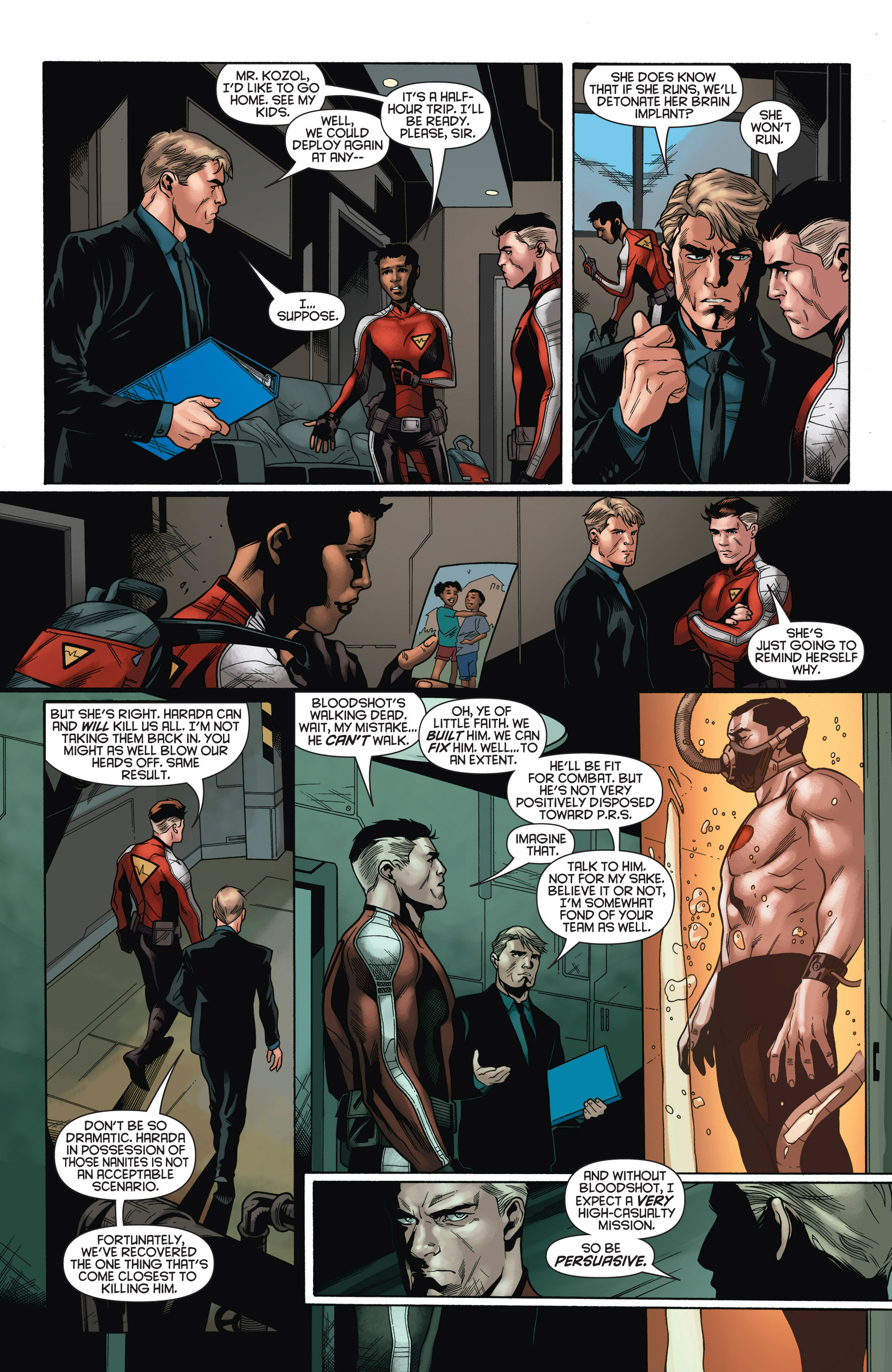 Read online Bloodshot and H.A.R.D.Corps comic -  Issue #15 - 16