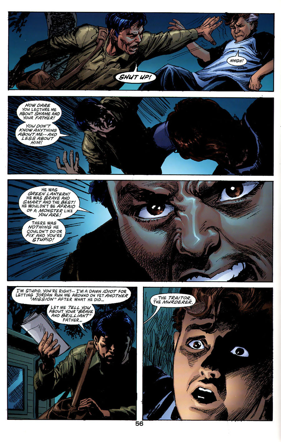 Read online Green Lantern: Legacy: The Last Will and Testament of Hal Jordan comic -  Issue # TPB - 61