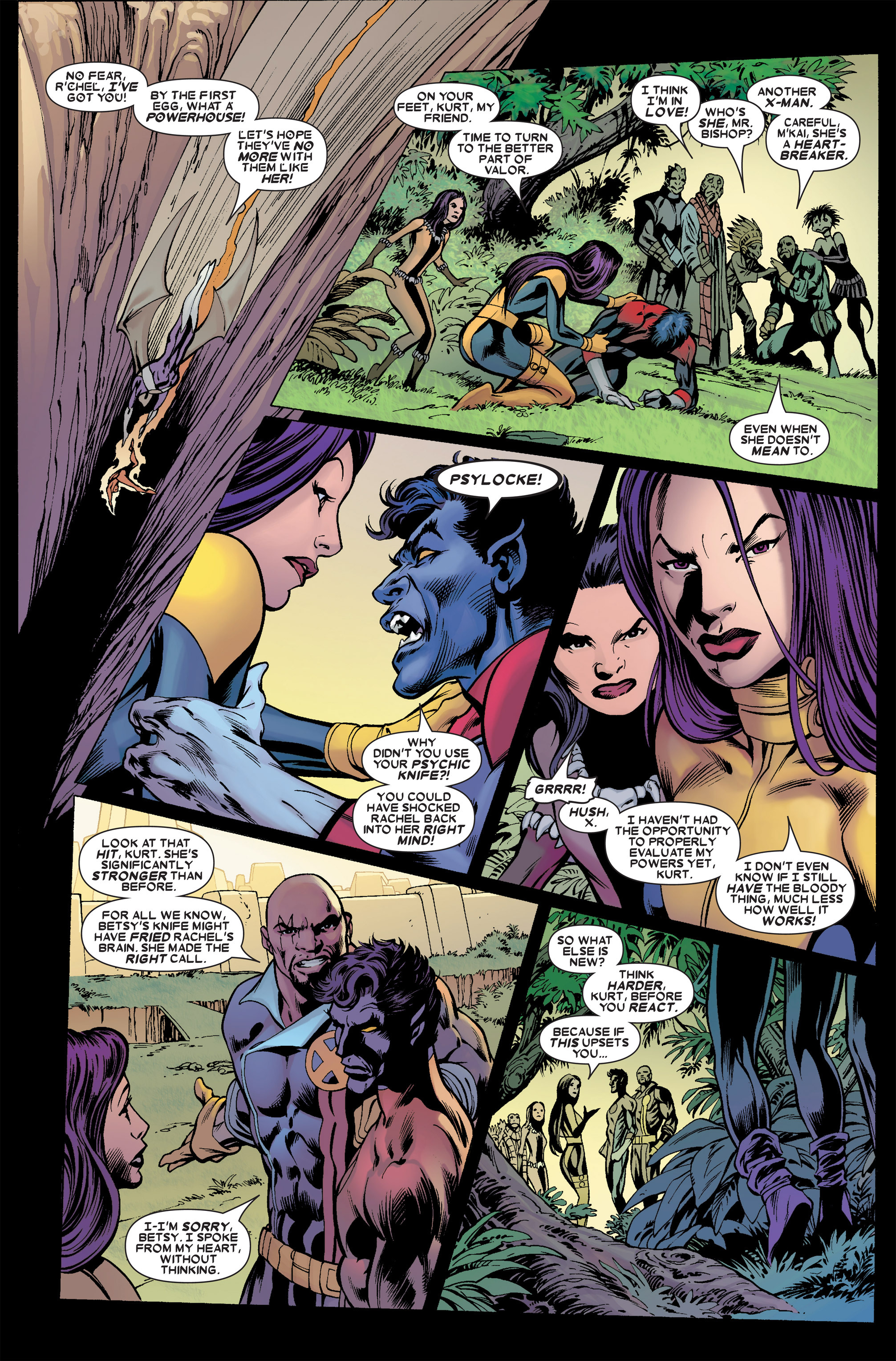 Read online Uncanny X-Men (1963) comic -  Issue #457 - 21