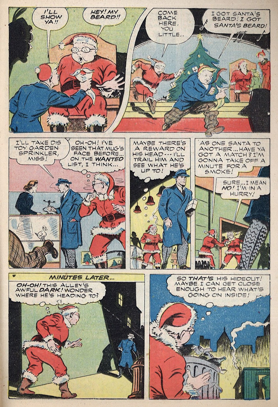 Exciting Comics (1940) issue 38 - Page 35