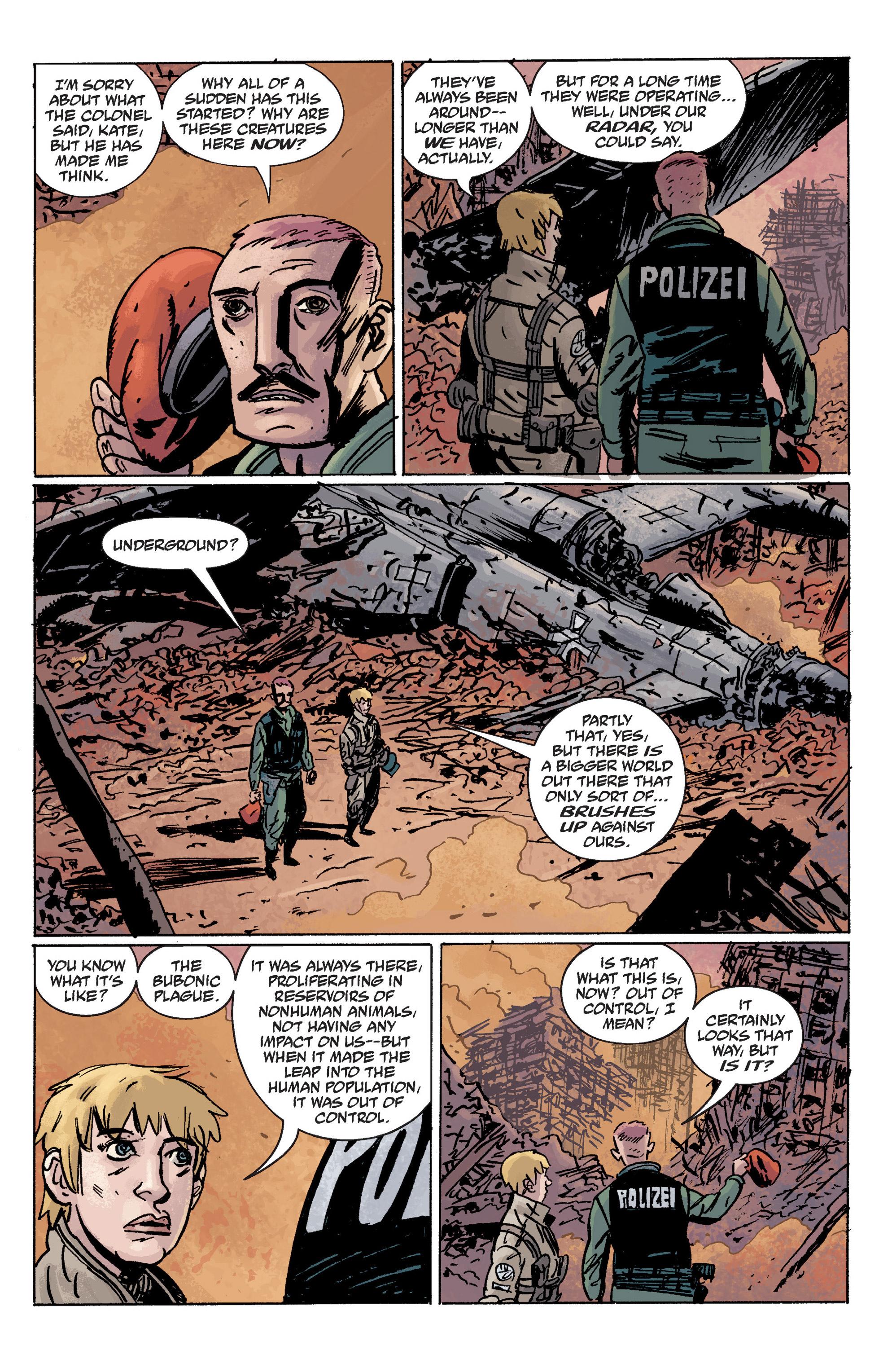 Read online B.P.R.D. (2003) comic -  Issue # TPB 10 - 130