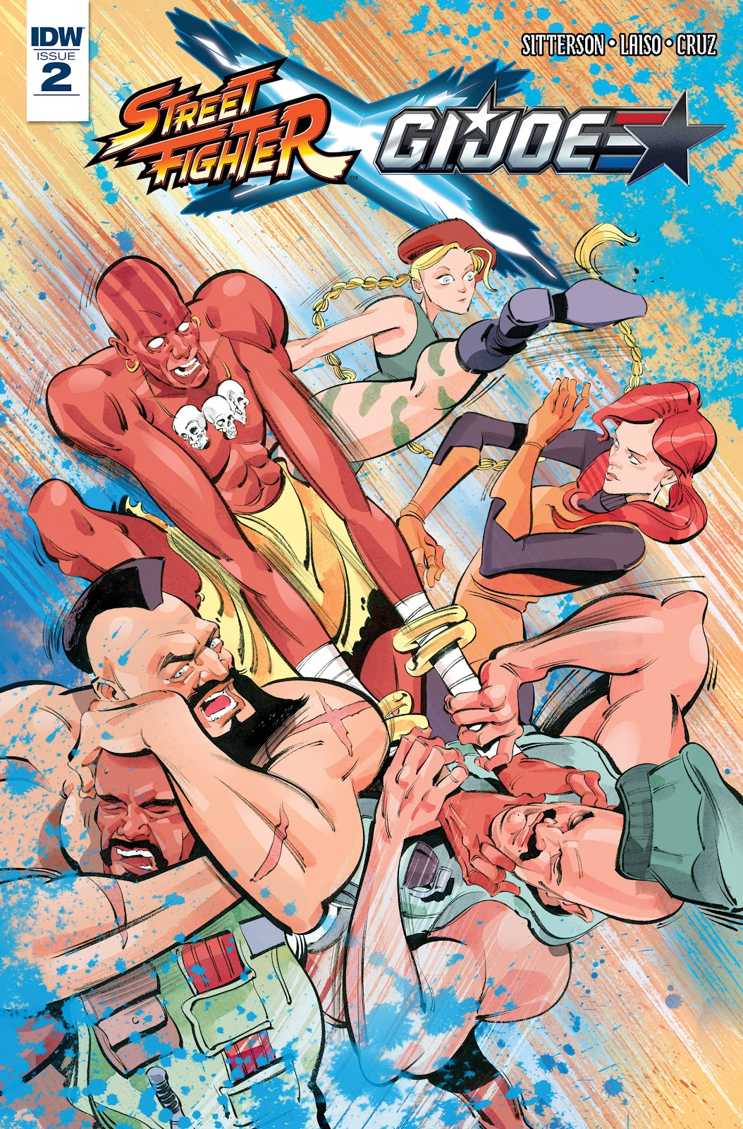Street Fighter X G.I. Joe 2 Page 1