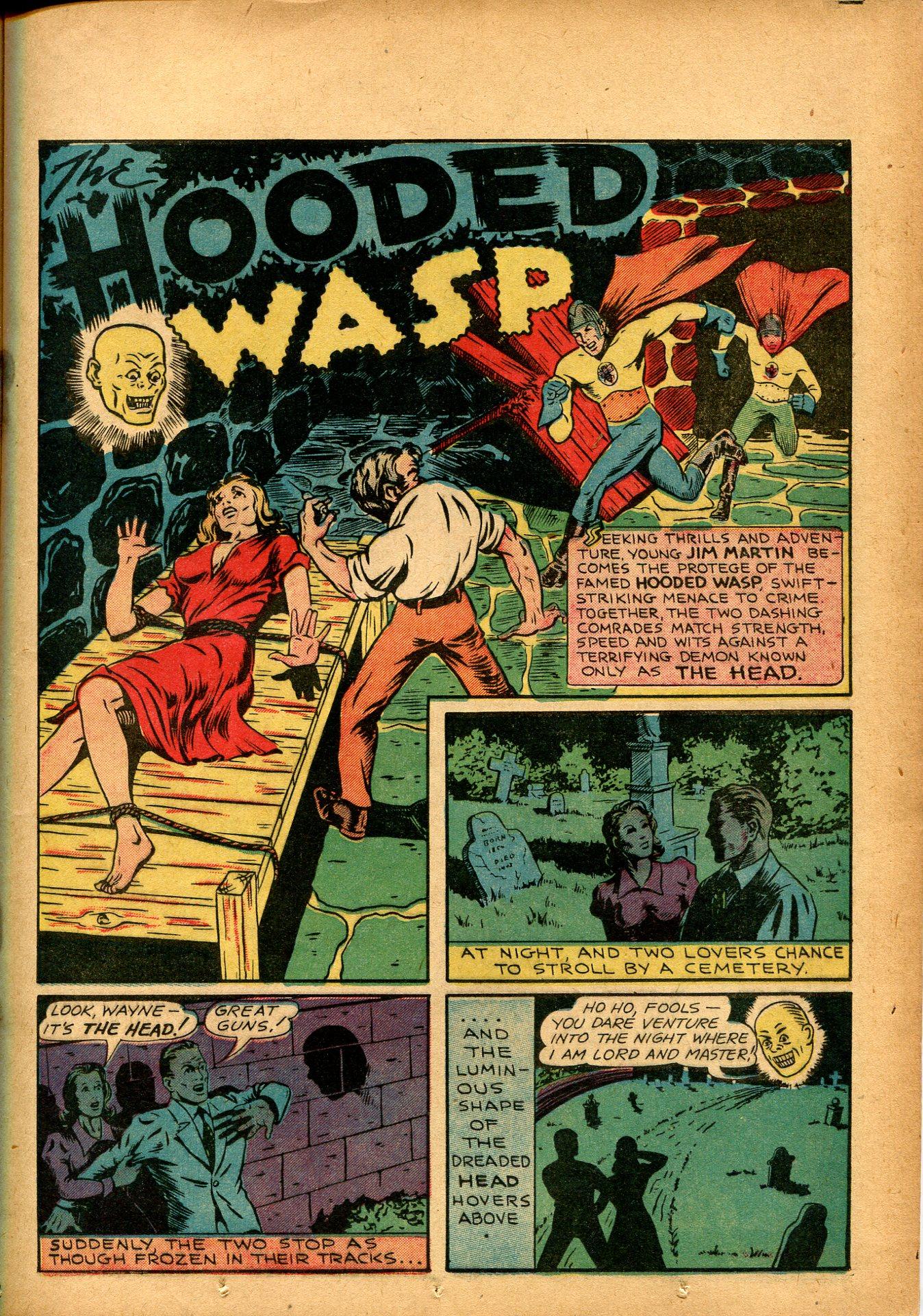 Read online Shadow Comics comic -  Issue #8 - 23