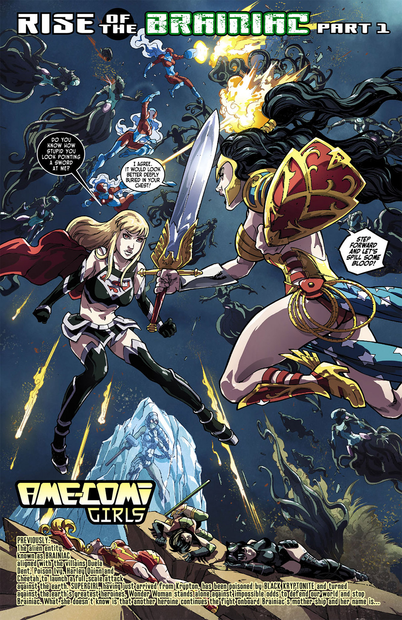 Read online Ame-Comi Girls comic -  Issue #1 - 3