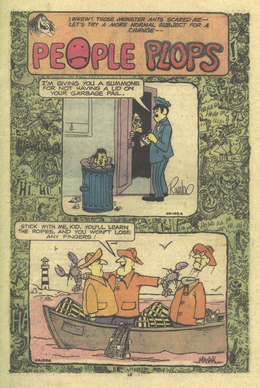Read online Plop! comic -  Issue #9 - 19