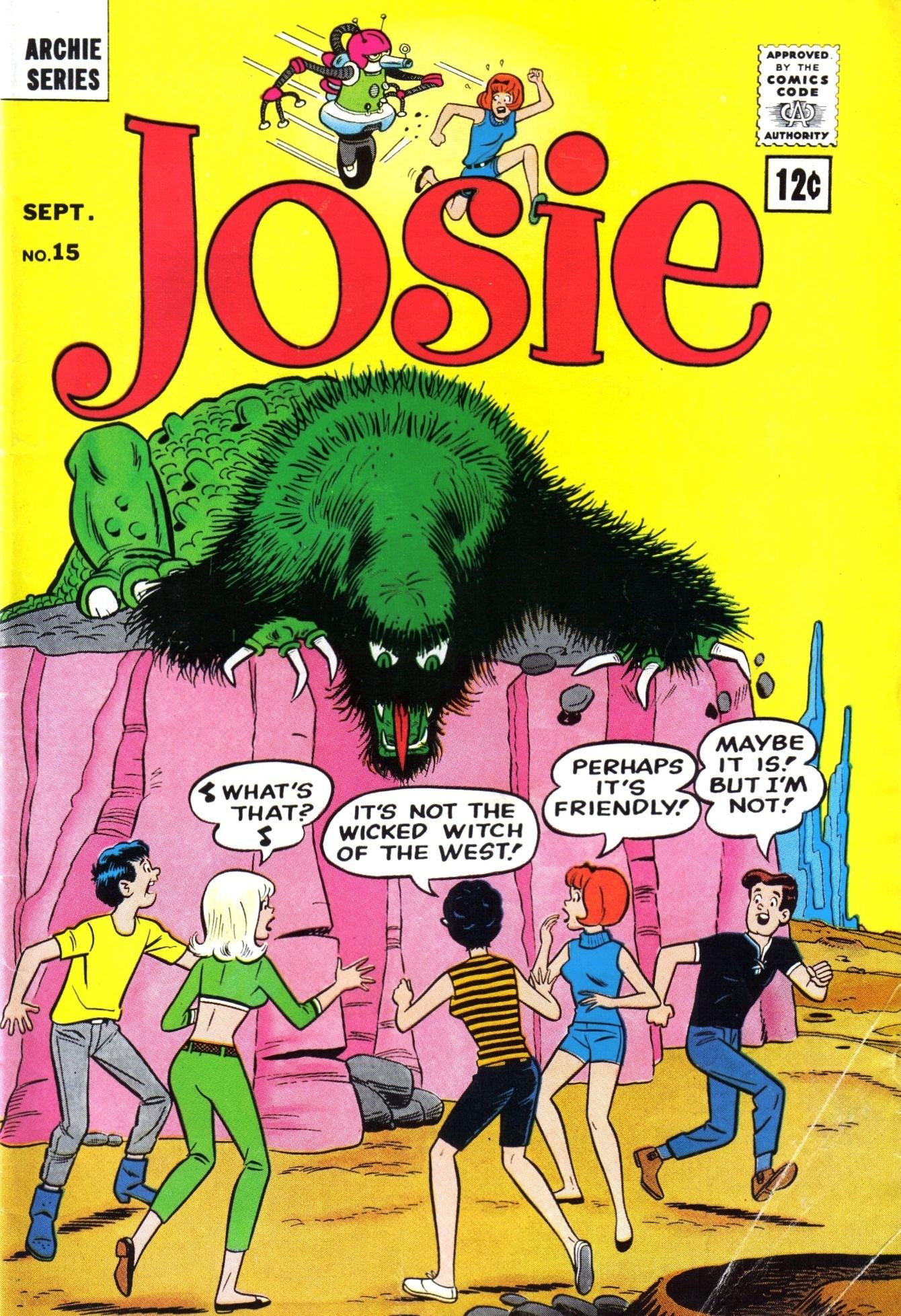 Read online She's Josie comic -  Issue #15 - 1