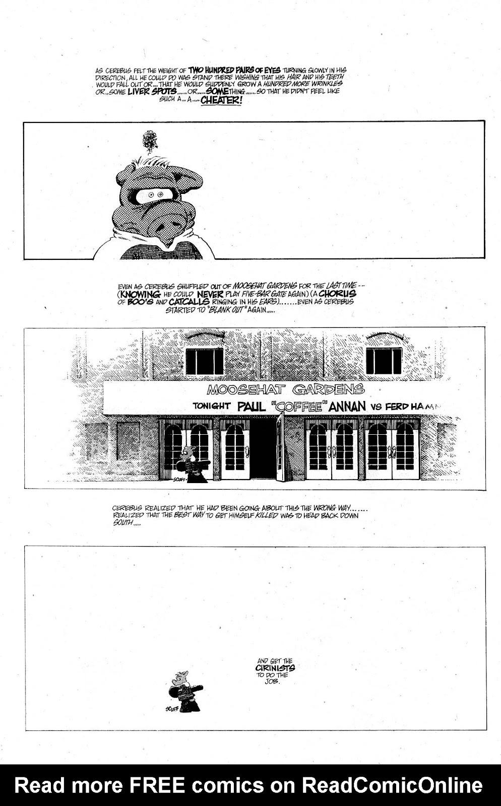Cerebus Issue #267 #266 - English 22