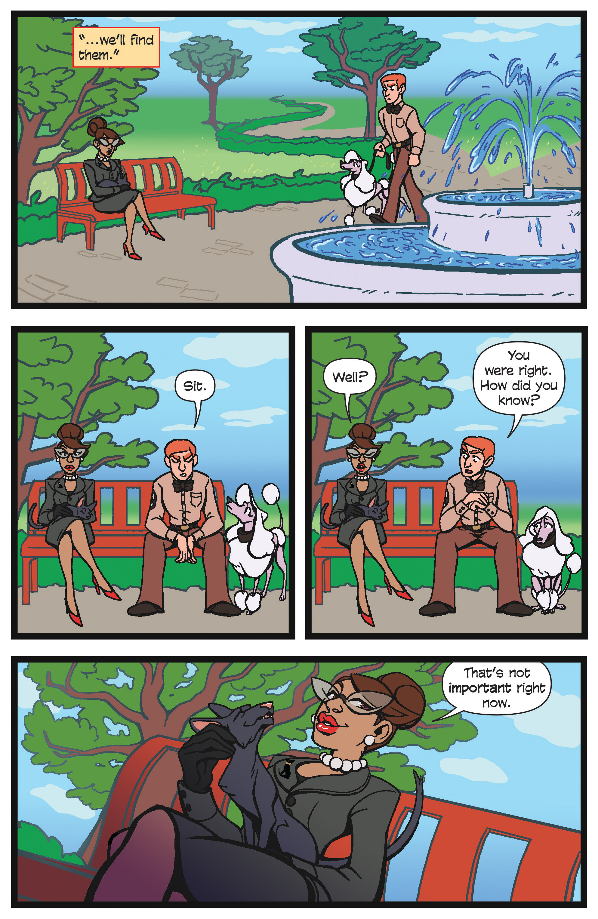 Read online Action Lab, Dog of Wonder comic -  Issue #4 - 11