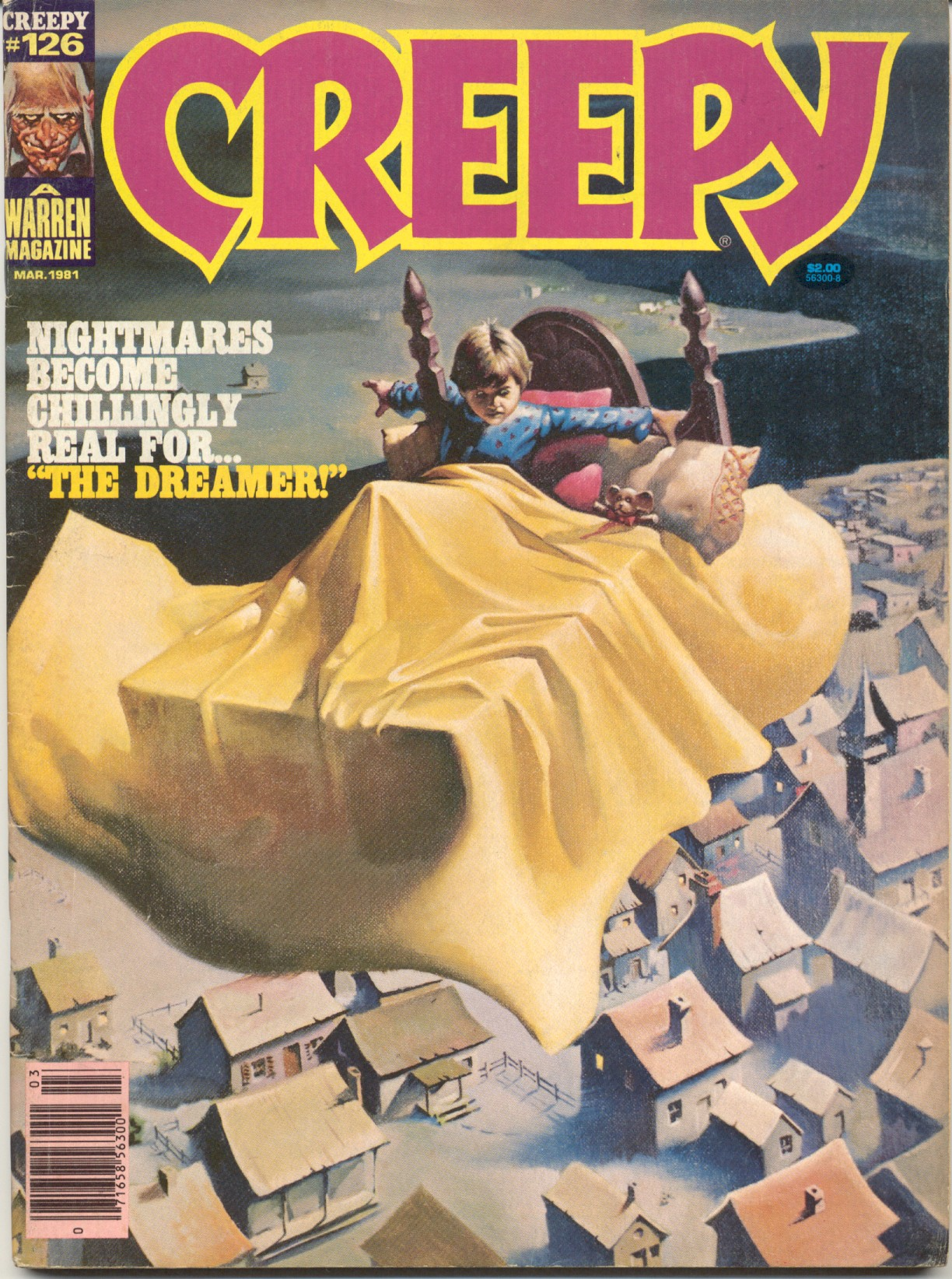 Creepy (1964) 126 Page 1