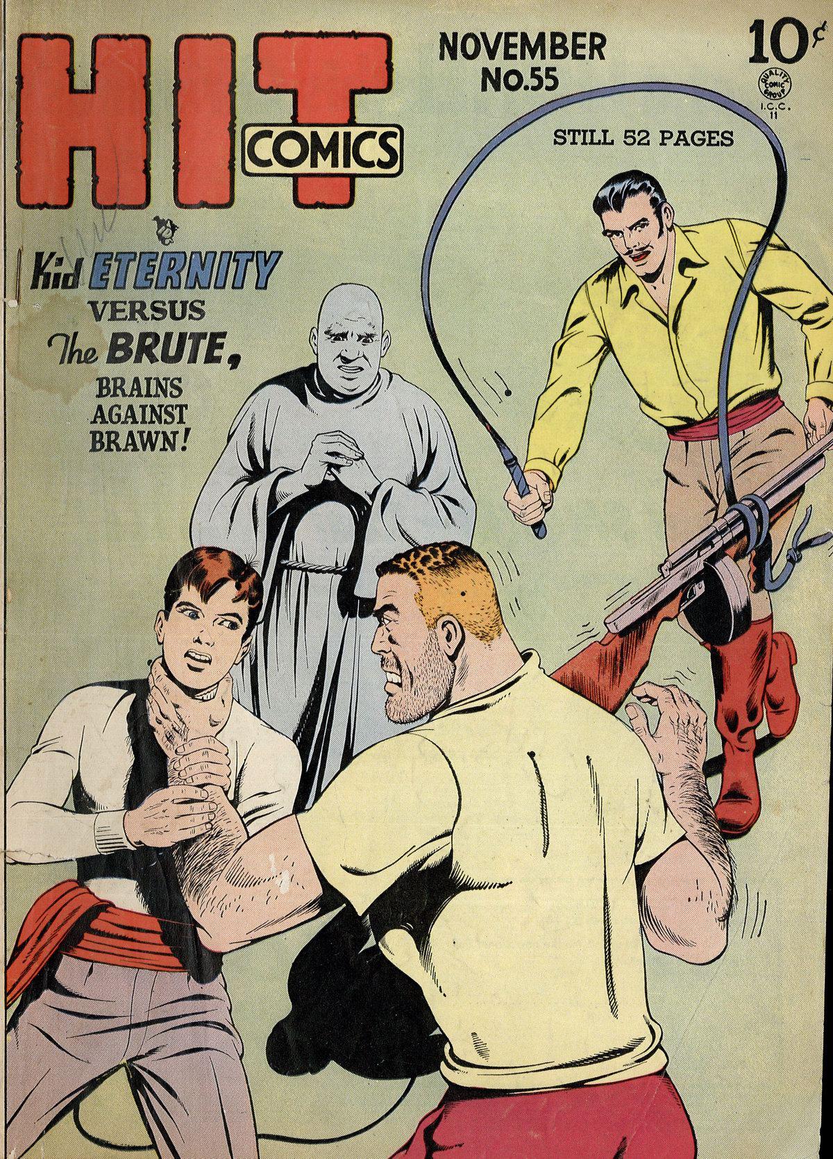 Read online Hit Comics comic -  Issue #55 - 1