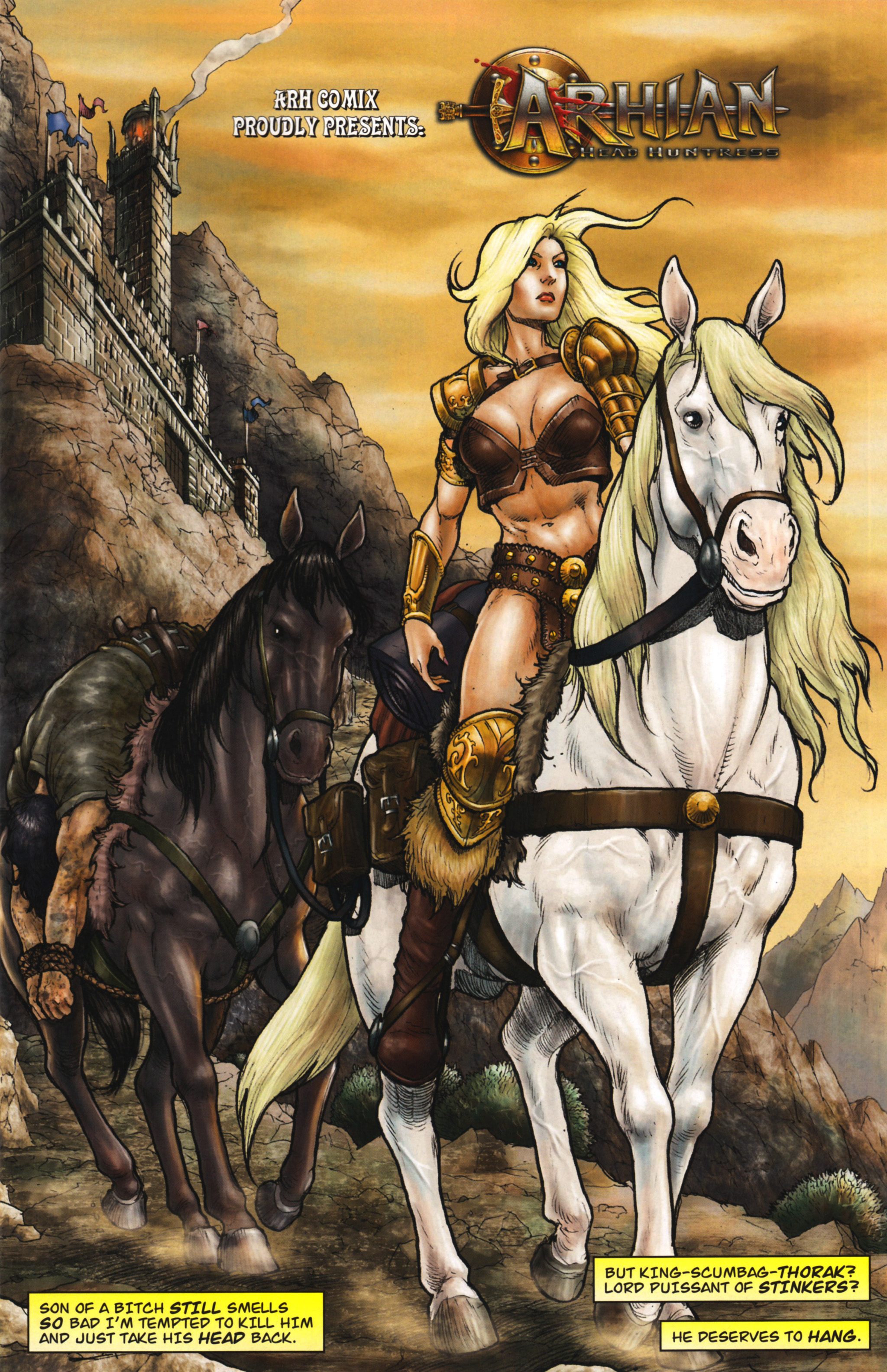 Read online Arhian: Head Huntress comic -  Issue #1 - 11