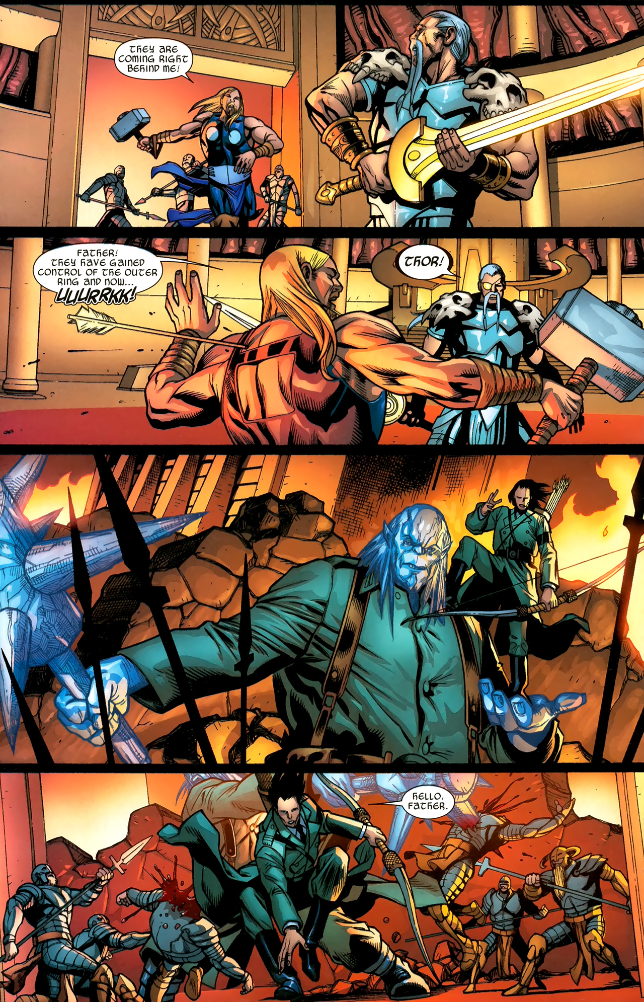 Read online Ultimate Thor comic -  Issue #3 - 16