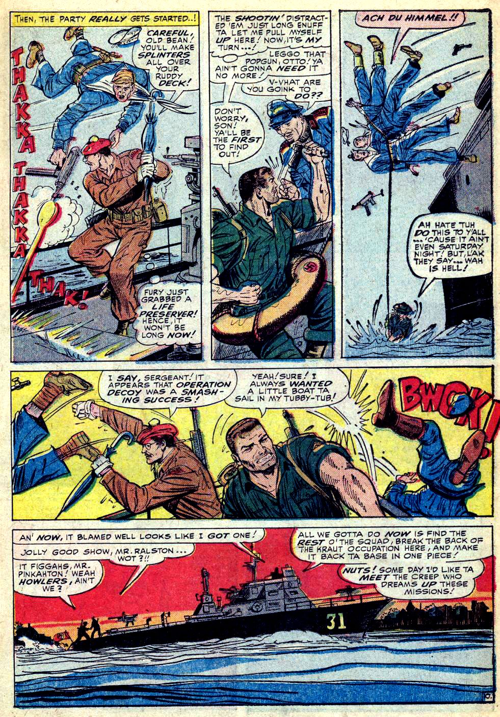 Read online Sgt. Fury comic -  Issue #28 - 15