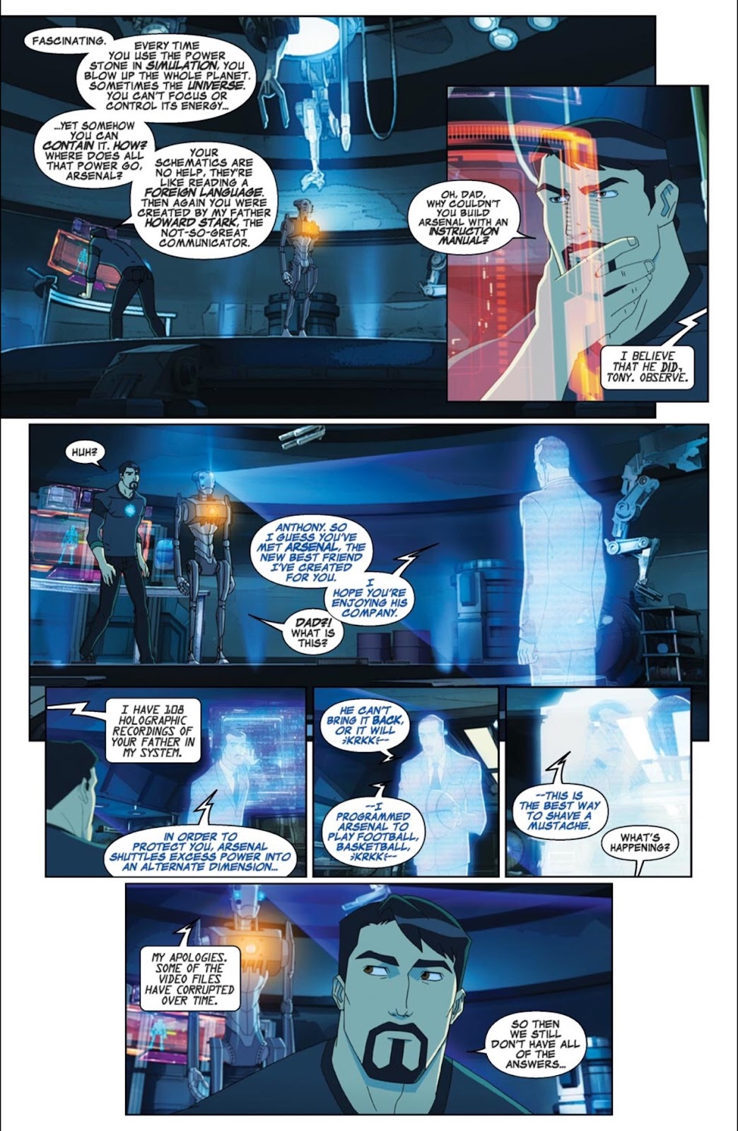 Read online Marvel Universe Avengers Assemble Season 2 comic -  Issue #2 - 4