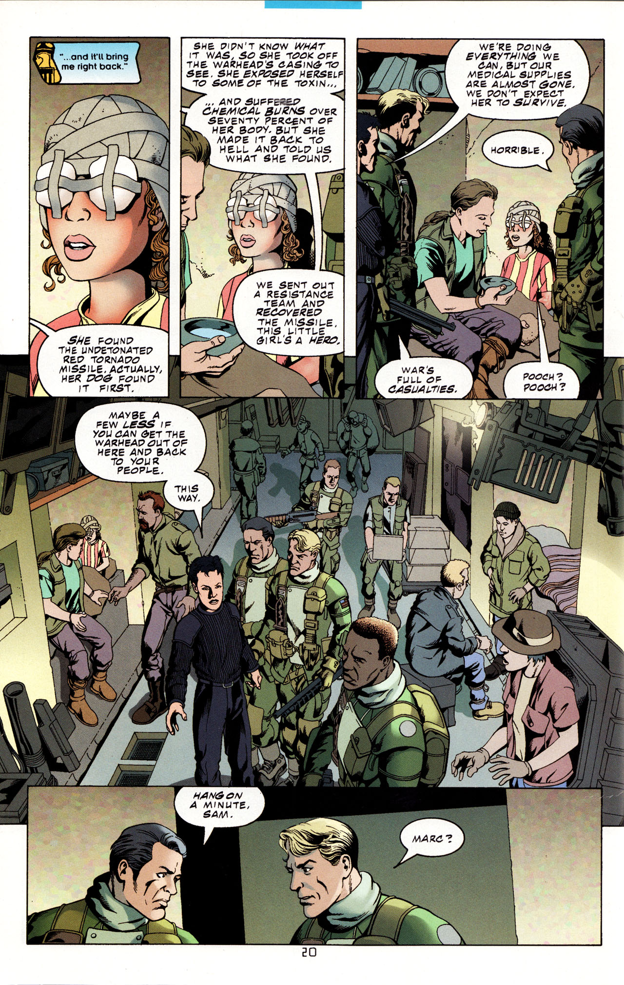 Read online Tangent Comics/ Metal Men comic -  Issue # Full - 19